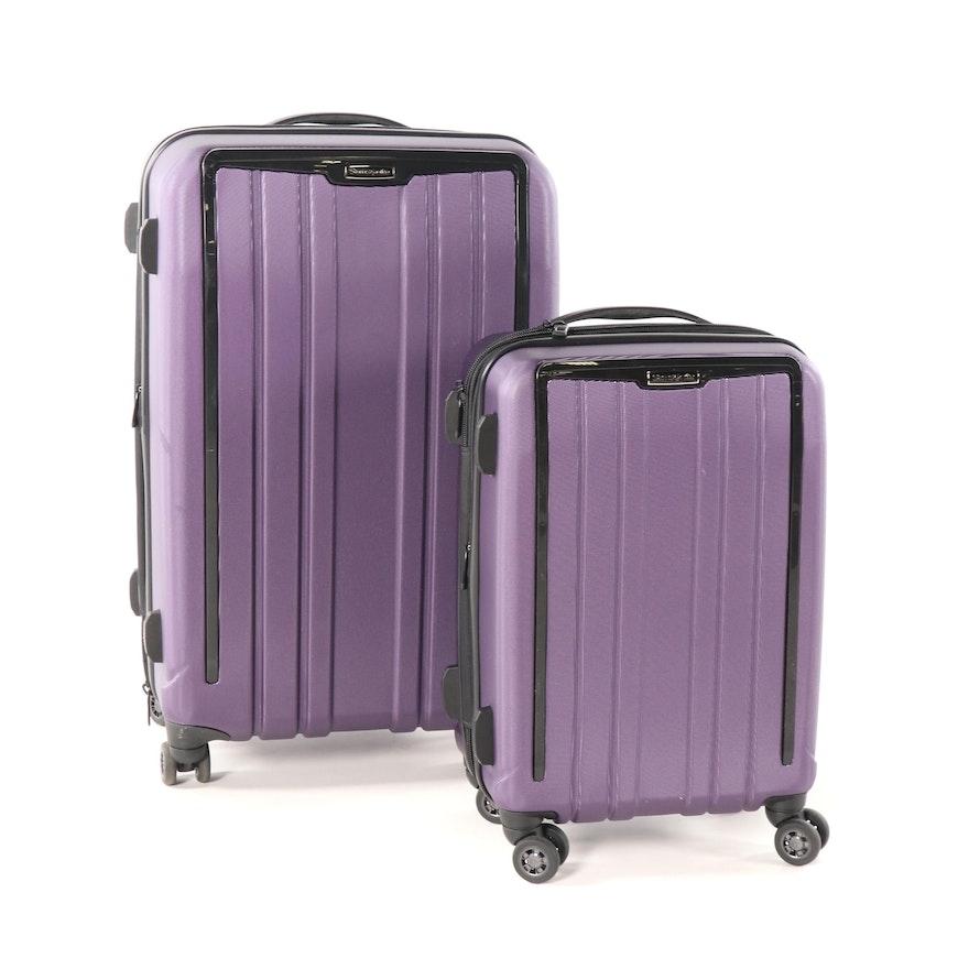 49d2d08221b0 Samsonite ExoFrame Two-Piece Hardside Spinner Luggage Set   EBTH