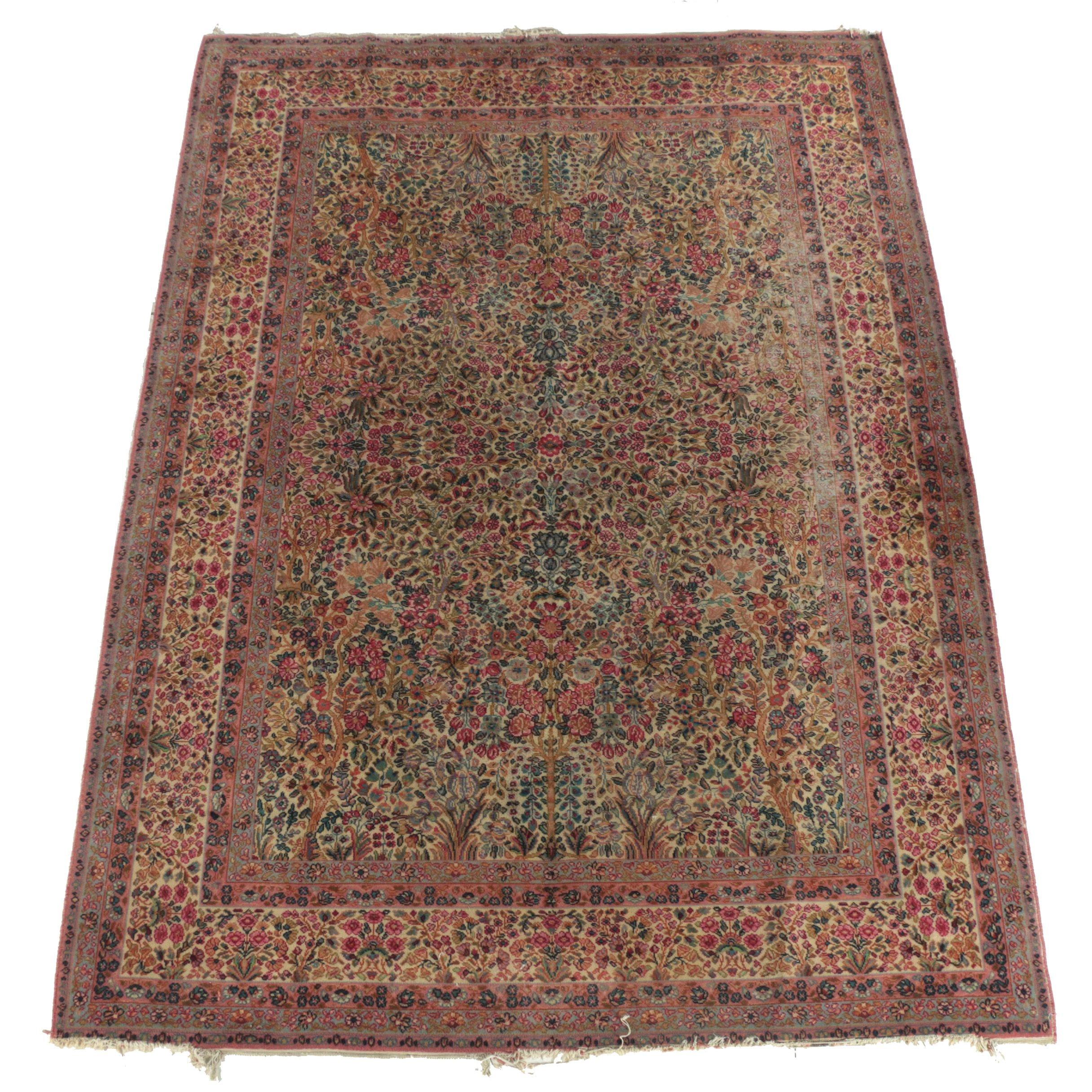 "Power Loomed Karastan ""Lanamar"" Persian Style Wool Room Sized Rug"