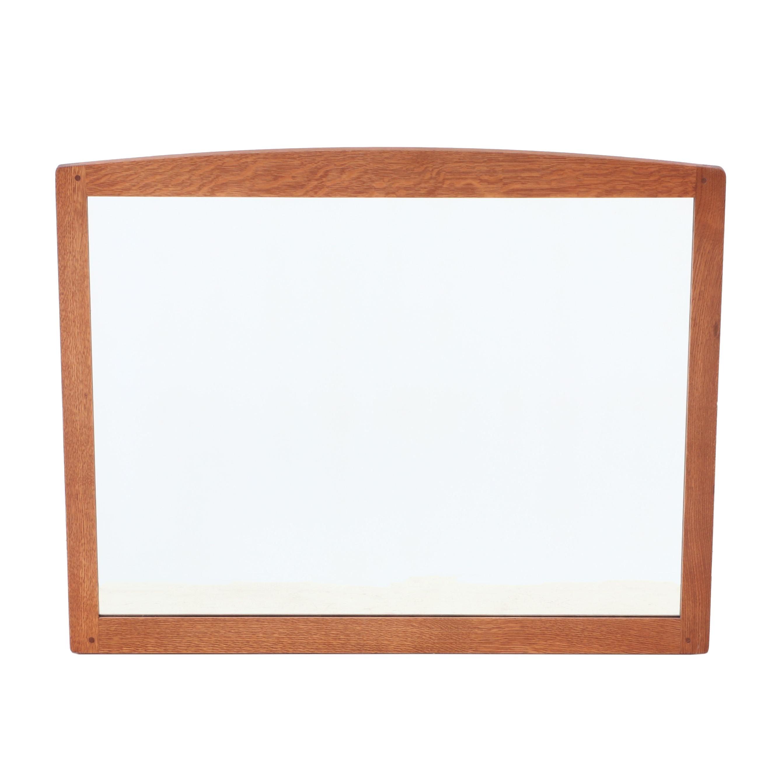 Stickley Mission Oak Wall Mirror