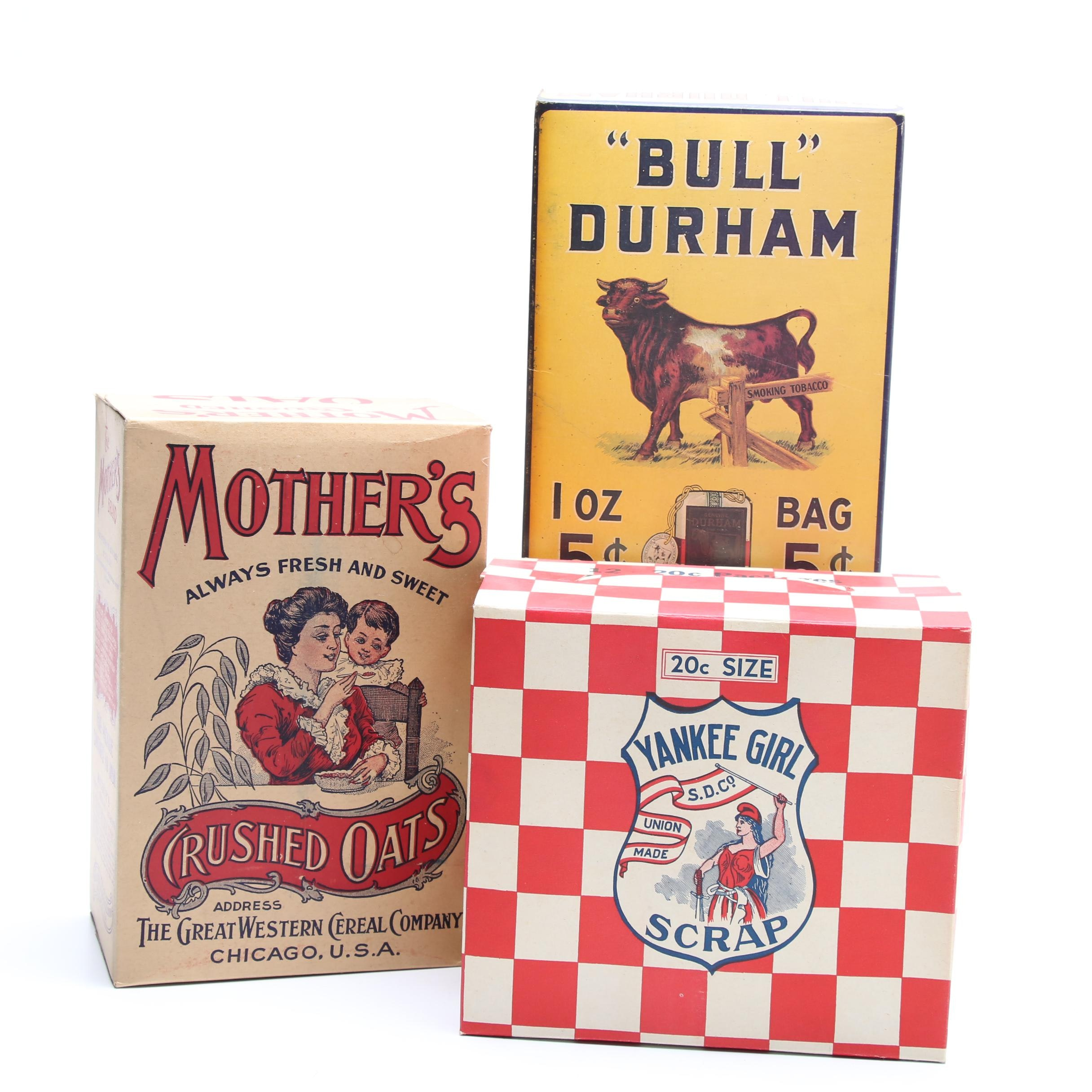 Vintage and Contemporary Advertising Ephemera