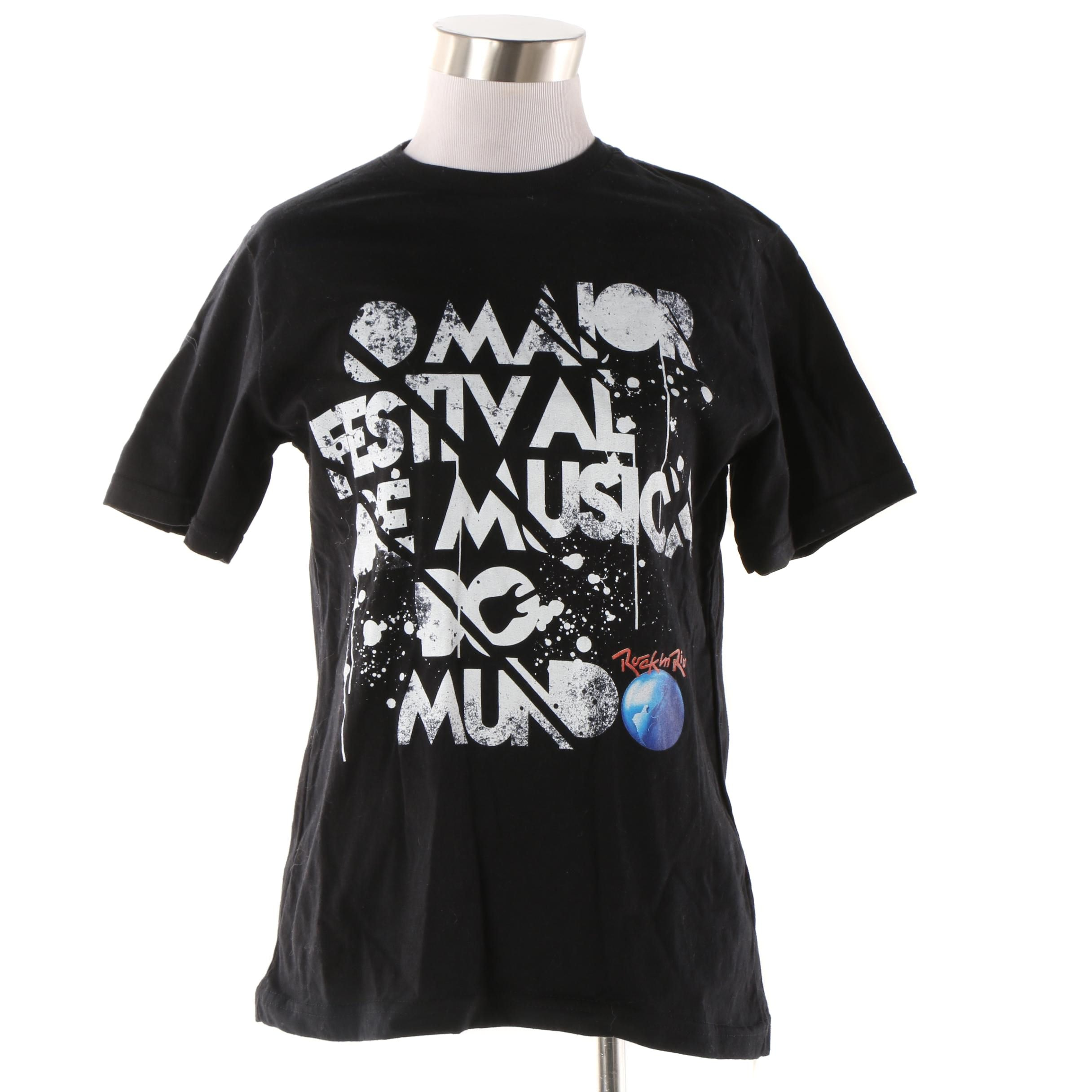 Rock in Rio Official Music Festival T-Shirt