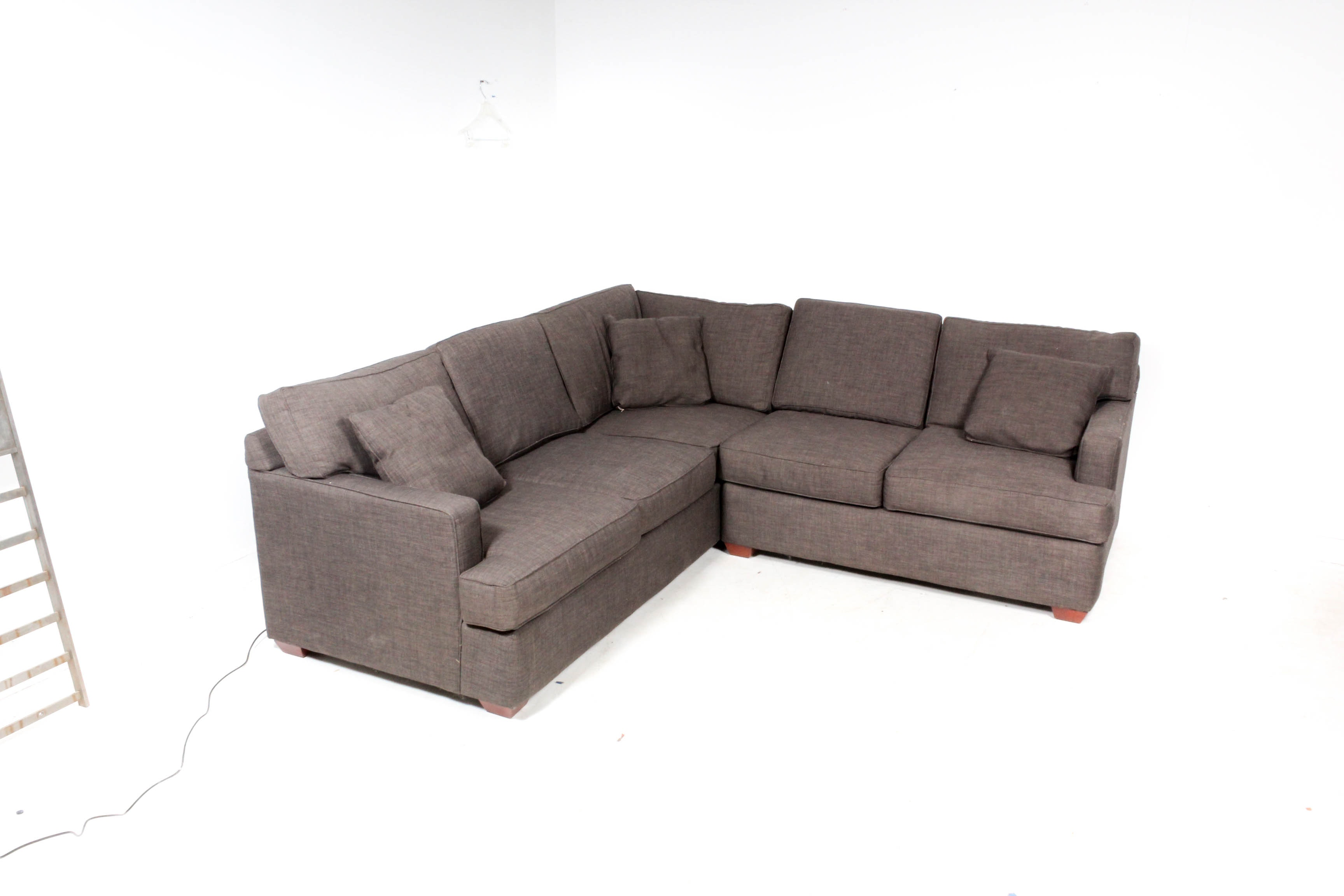 "Klaussner ""Loomis"" Contemporary Sectional Sofa"