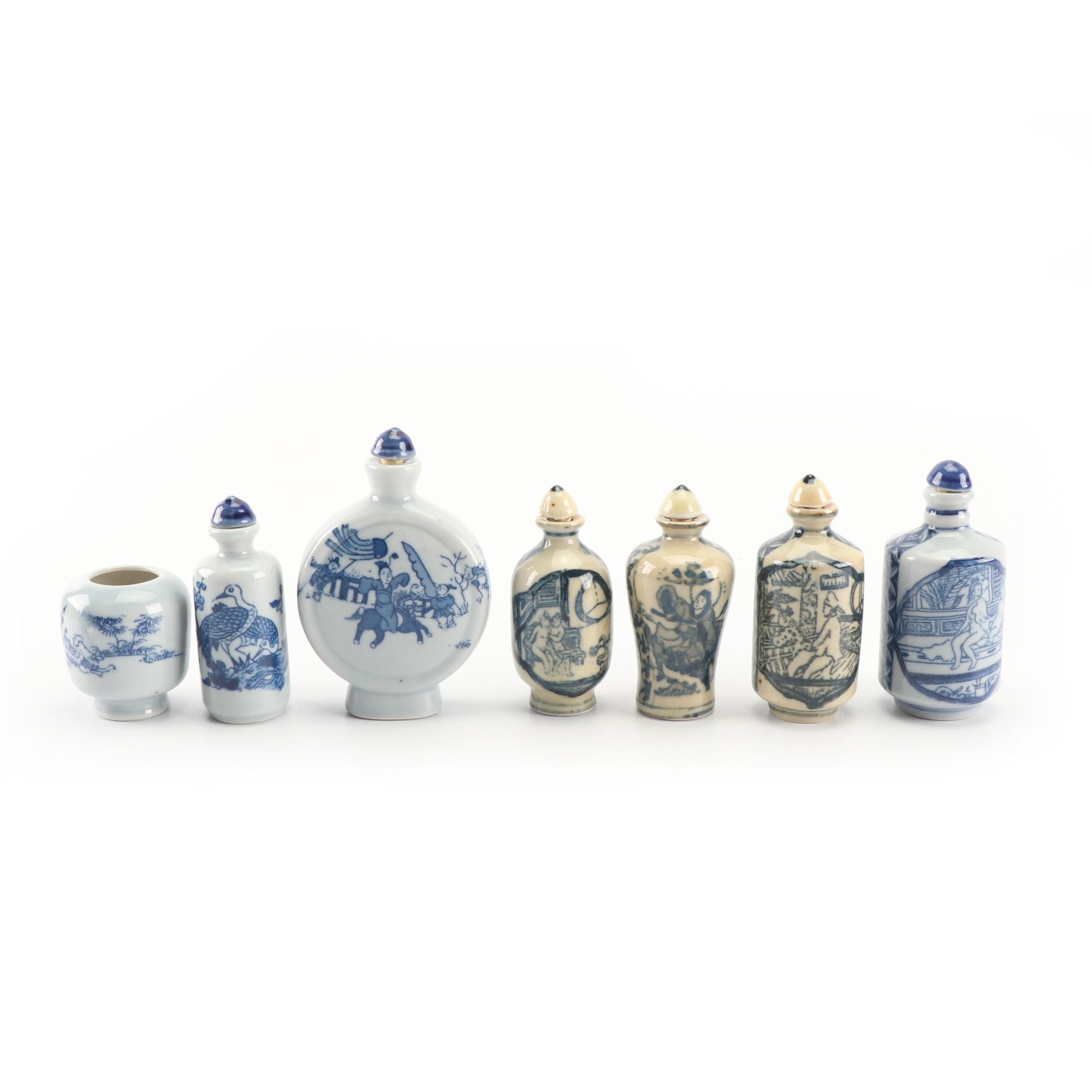 Chinese Ceramic Snuff Bottles