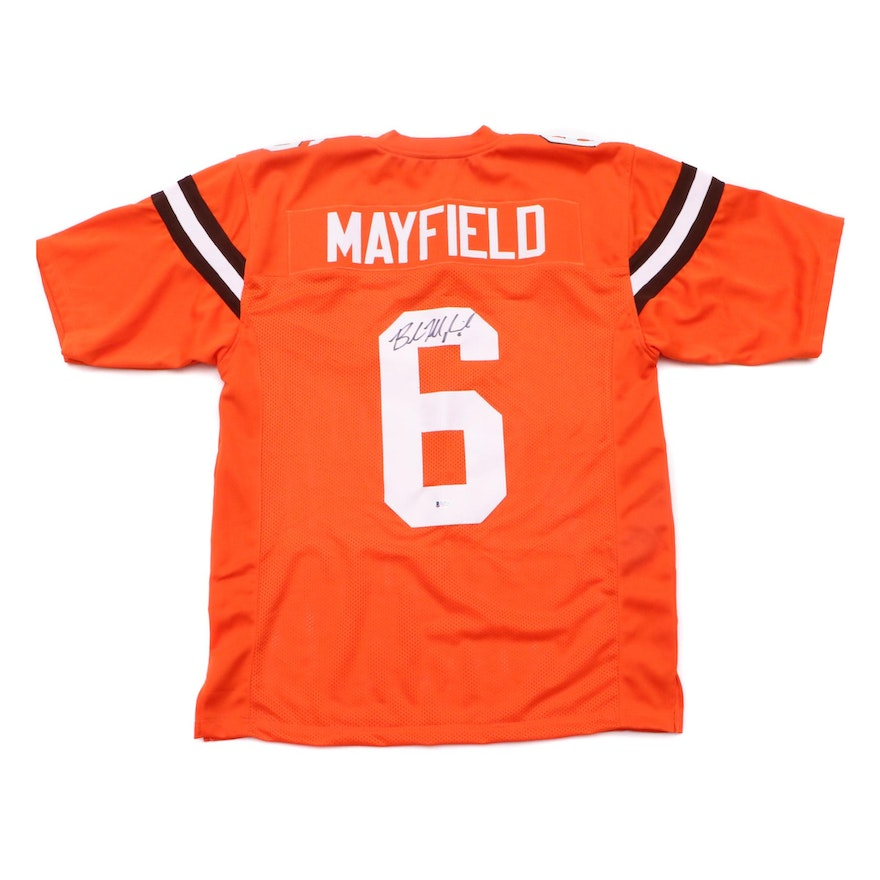 best sneakers b1780 a4cdf Baker Mayfield Signed Browns Jersey COA