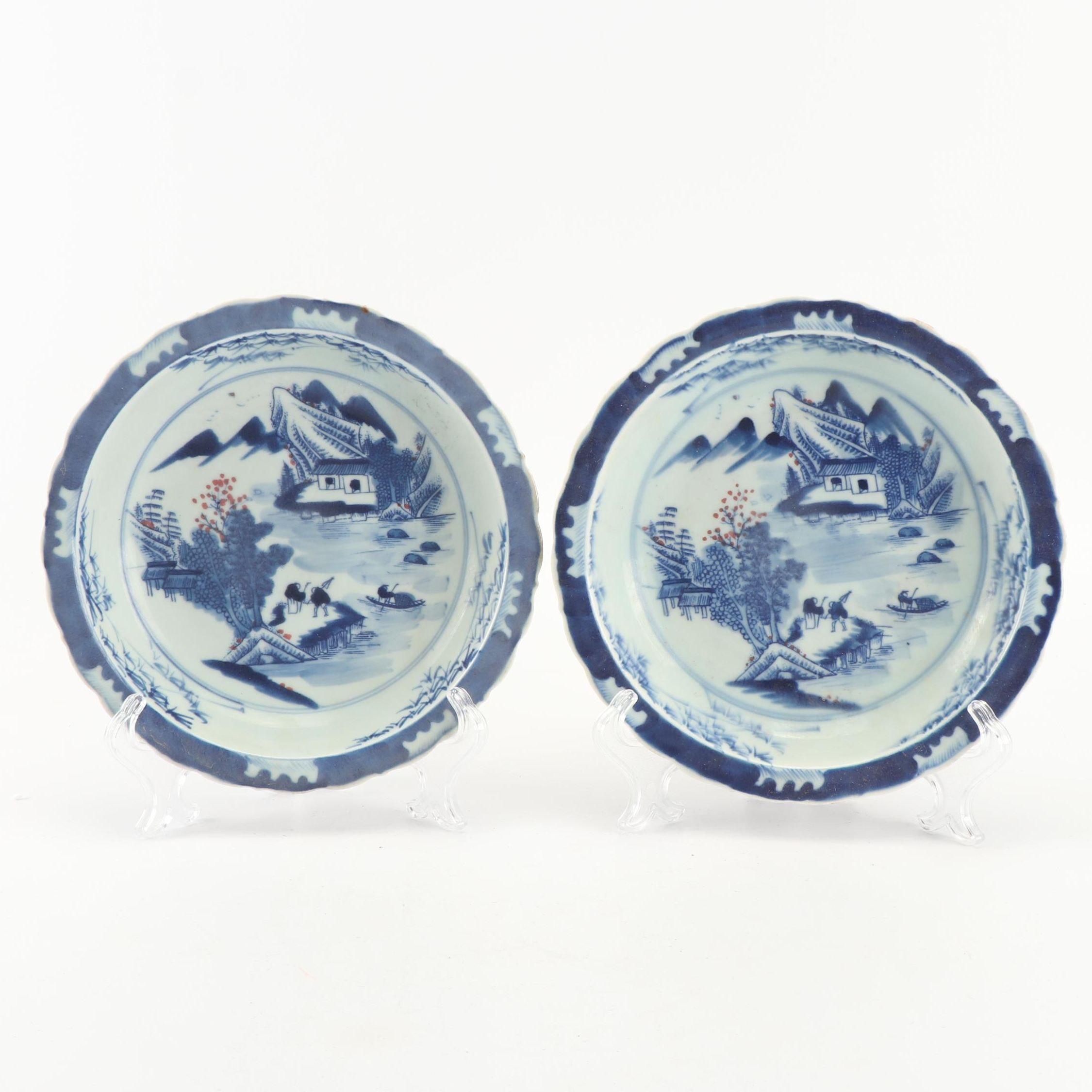 Chinese Blue and White Porcelain Bowls