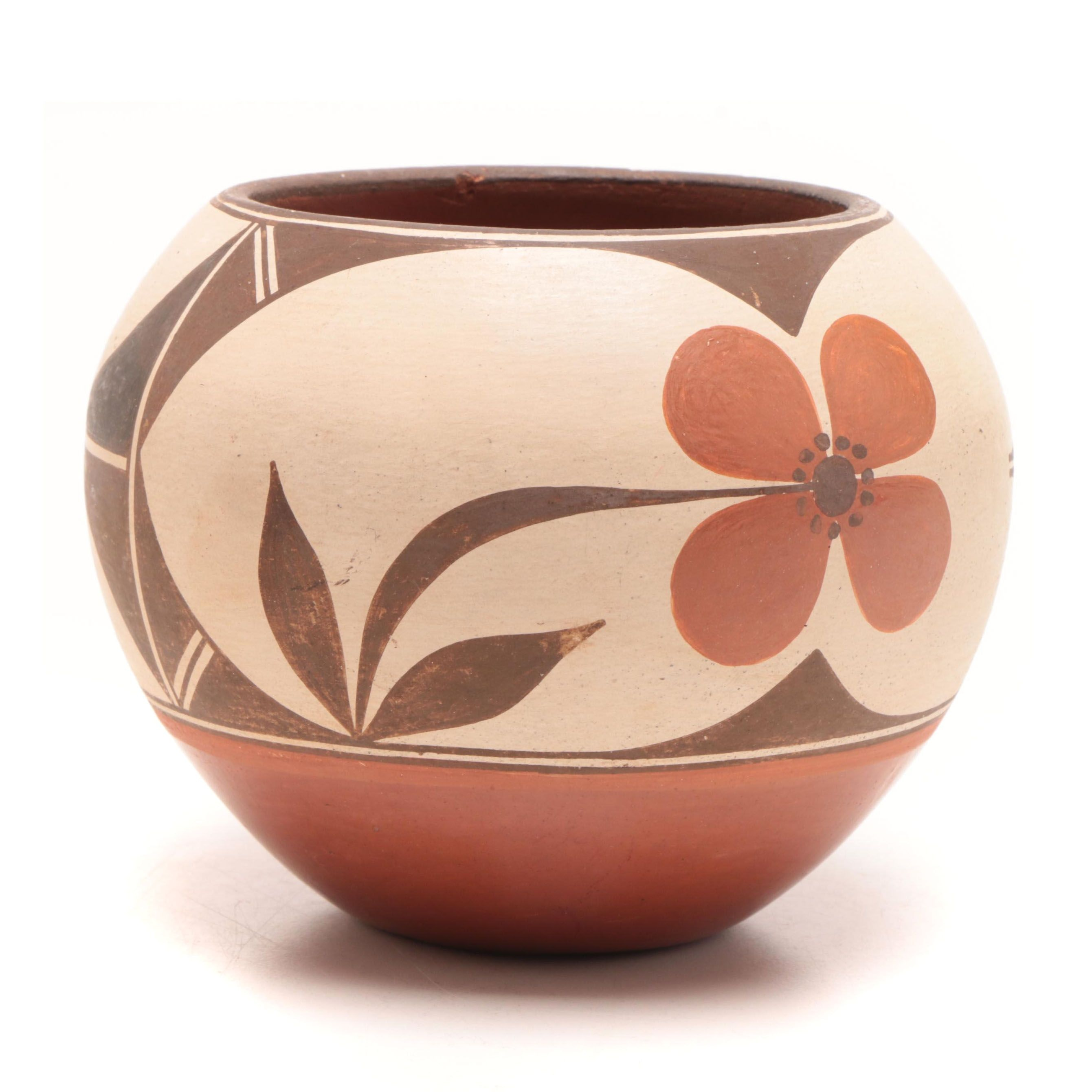 Pueblo Pottery Vase, Artist Signed