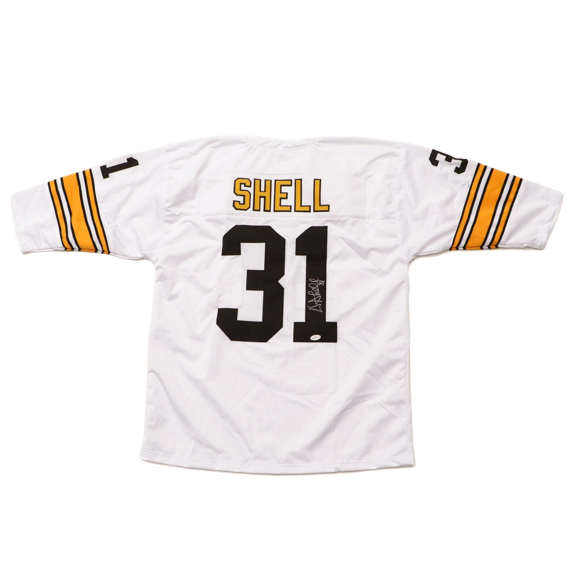 Donnie Shell Signed Steelers Jersey  COA