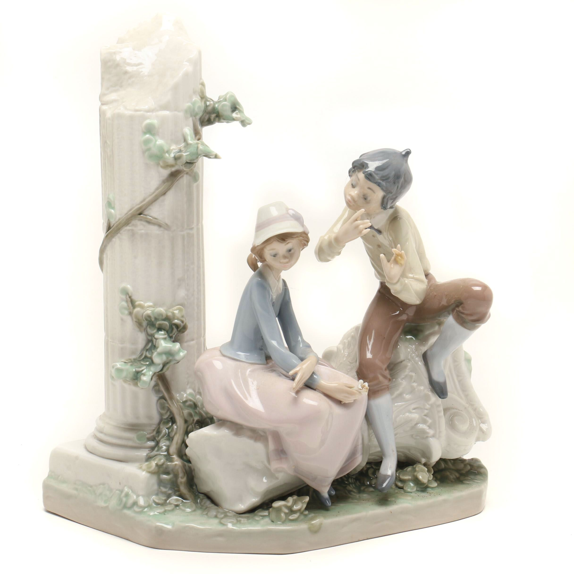 "Lladro ""Lovers Serenade"" Figurine"