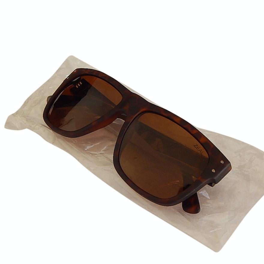7b83301c6319 Zeal Captain Tortoiseshell-Style Polarized Sunglasses   EBTH