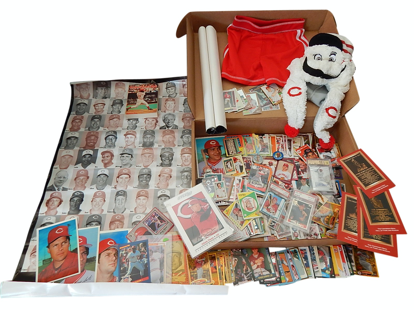 Cincinnati Reds Card and Collectibles Lot - 1970s to 2000s