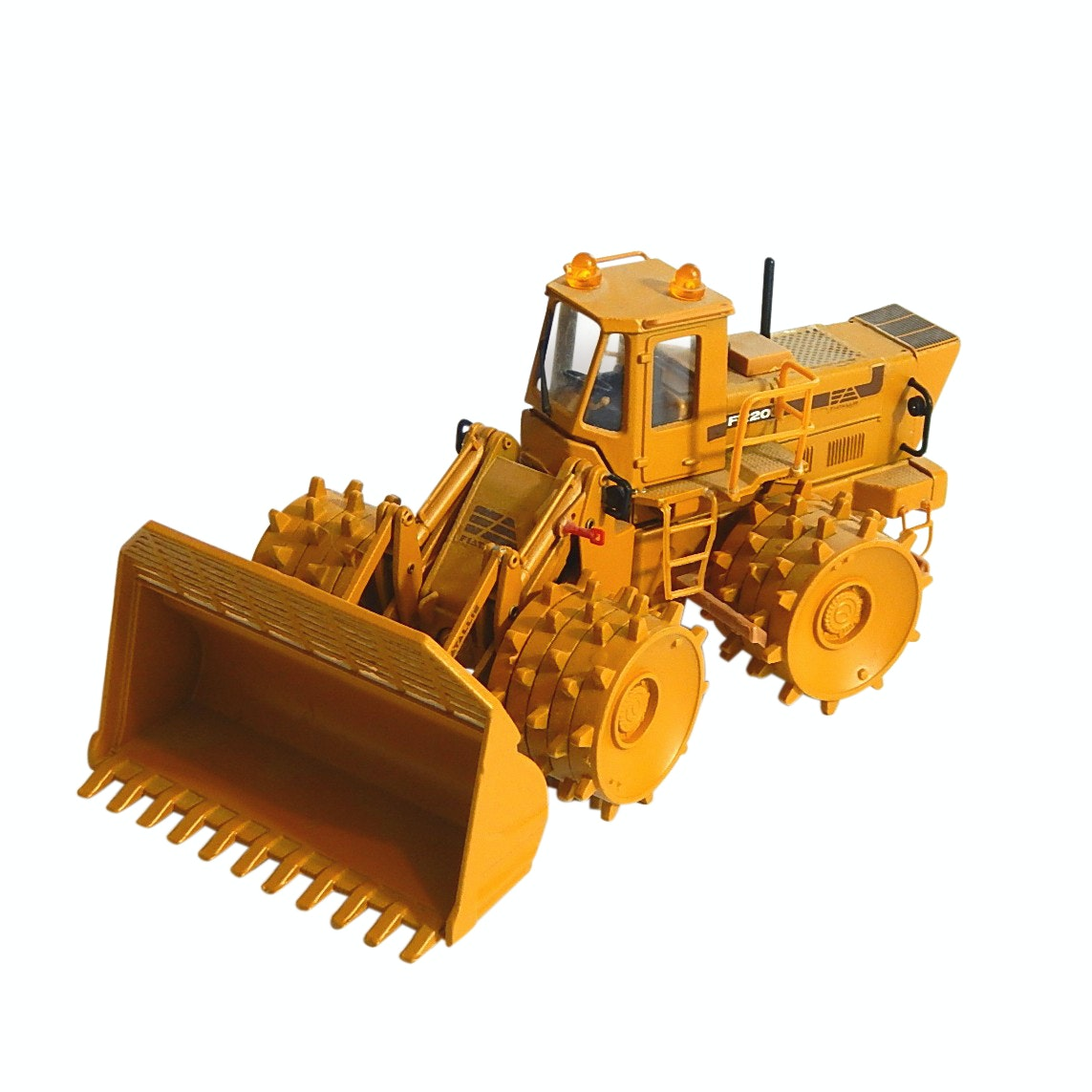 Fiat Allis 1:50 Scale Old Cars FR-20 Wheel Loader - Made in Italy
