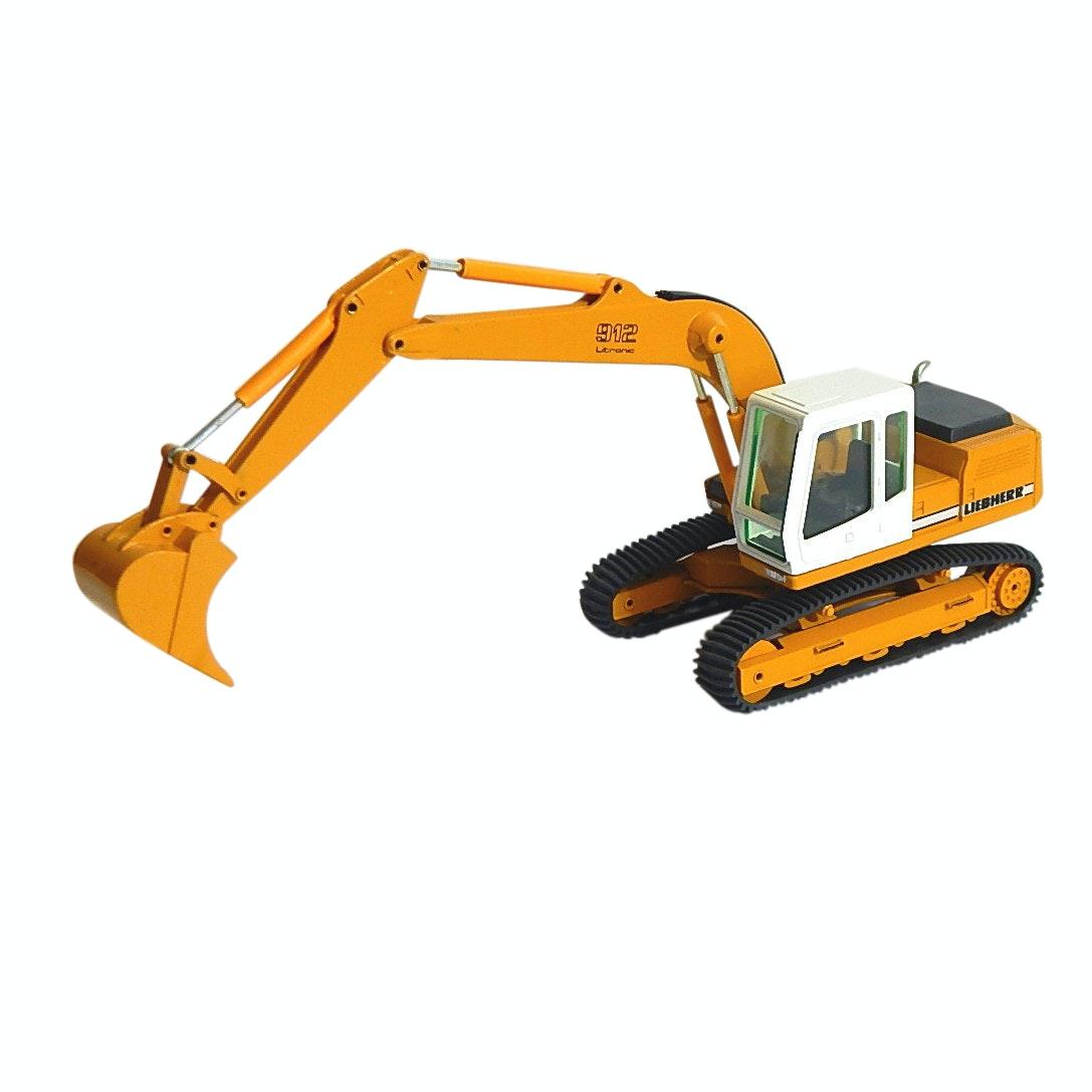 Die Cast 1:50 Conrad Liebherr 912 Litronic Excavator Germany Toy Vehicle