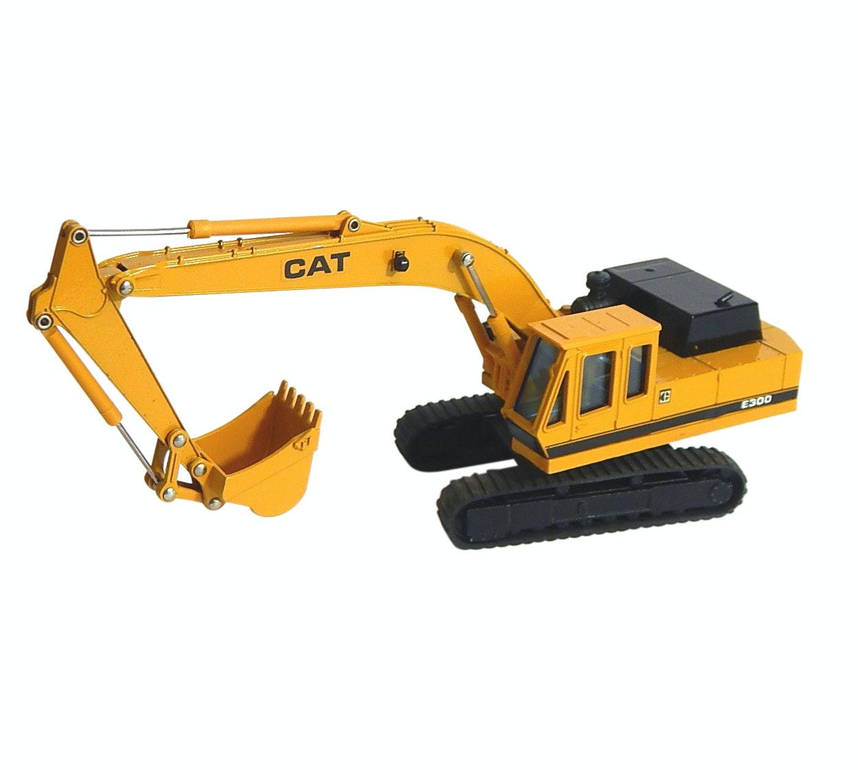 Die Cast Shinsei Caterpillar E300 Mini Power No. 606 Power Shovel Vehicle