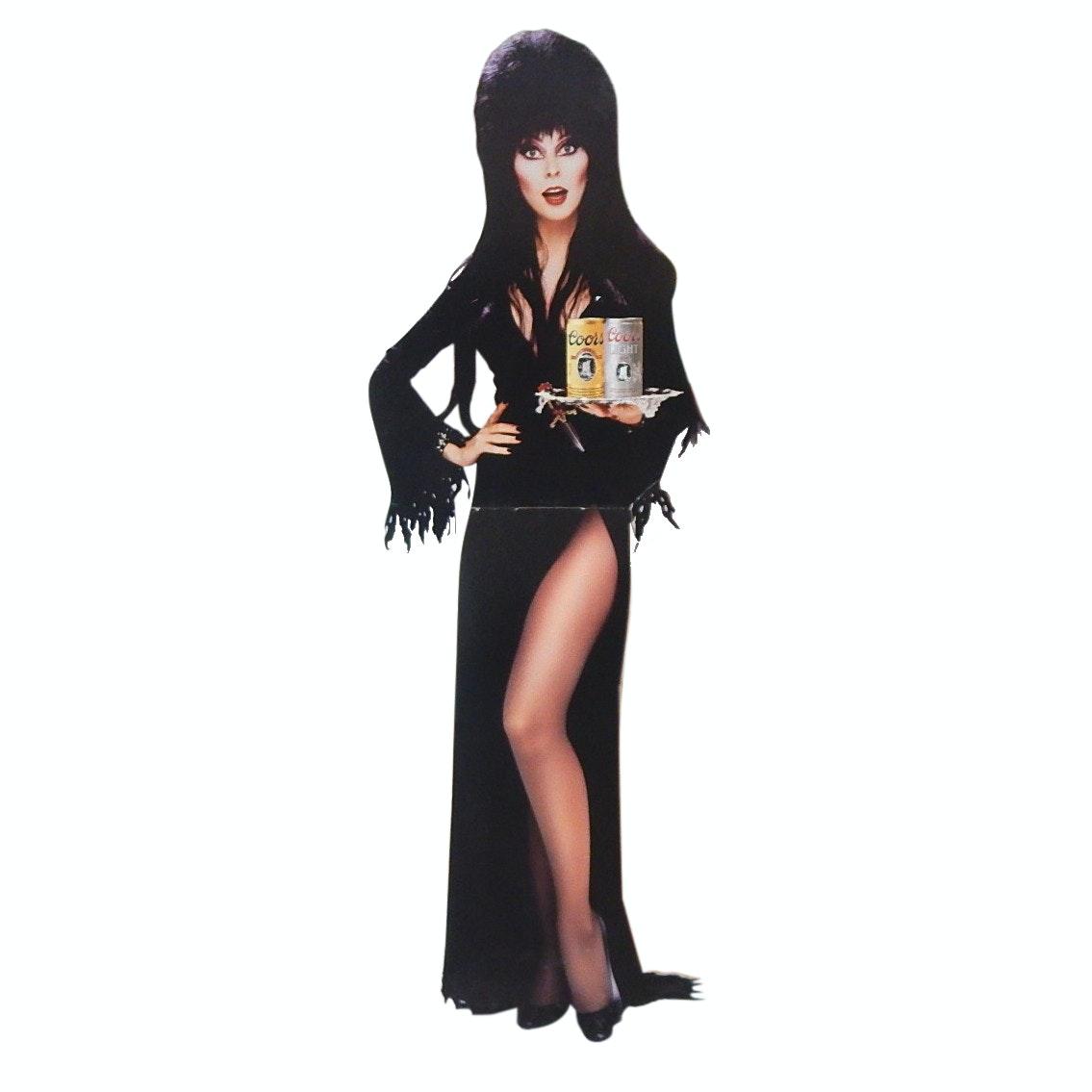 Elvira Coors Light Advertising Stand Up Cardboard Cut Out