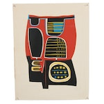 """Late 20th Century Serigraph """"Why Colored Worlds"""""""