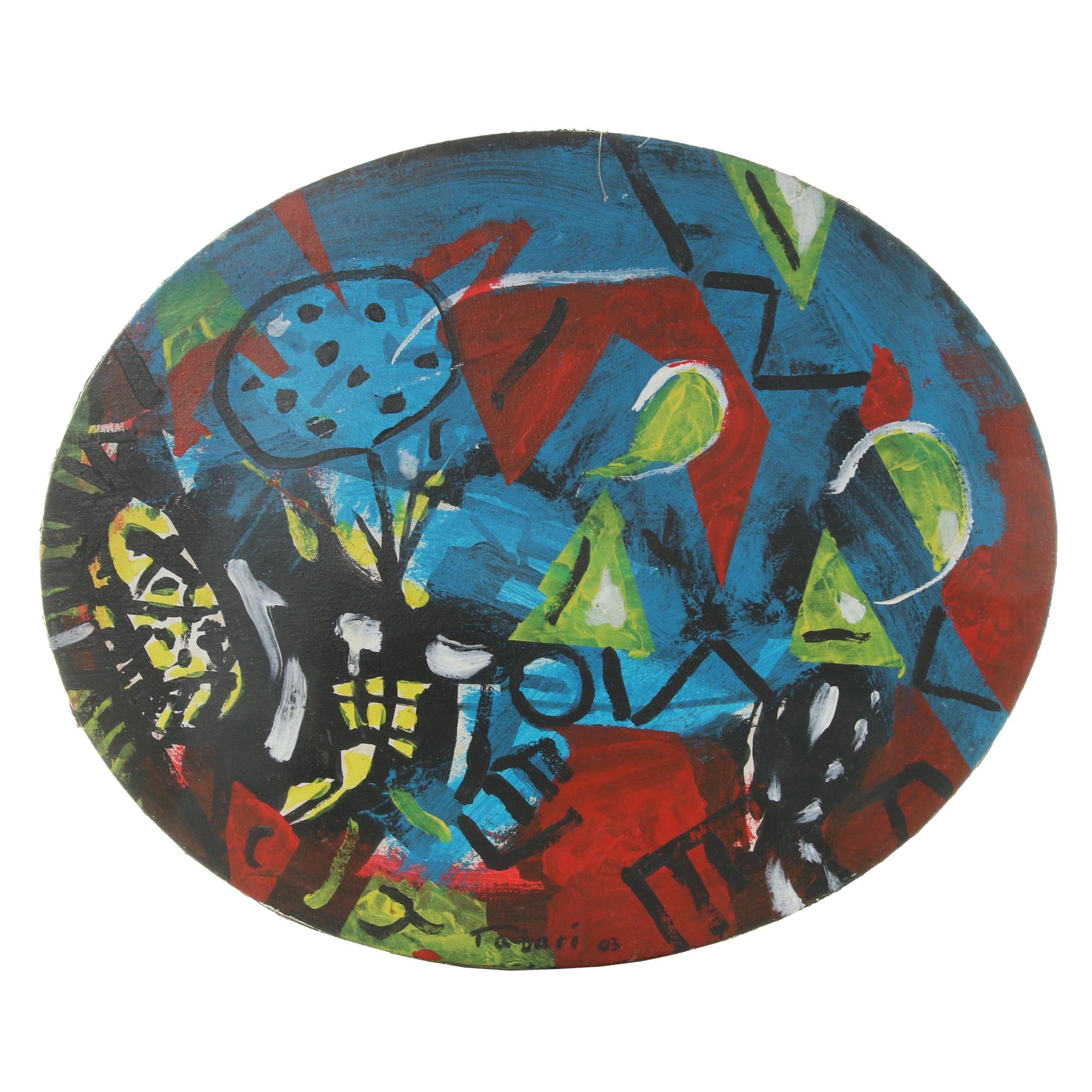 Tabari Acrylic Painting