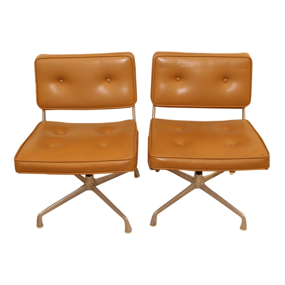 Pair of Mid Century Modern Charles Eames for Herman Miller Chairs