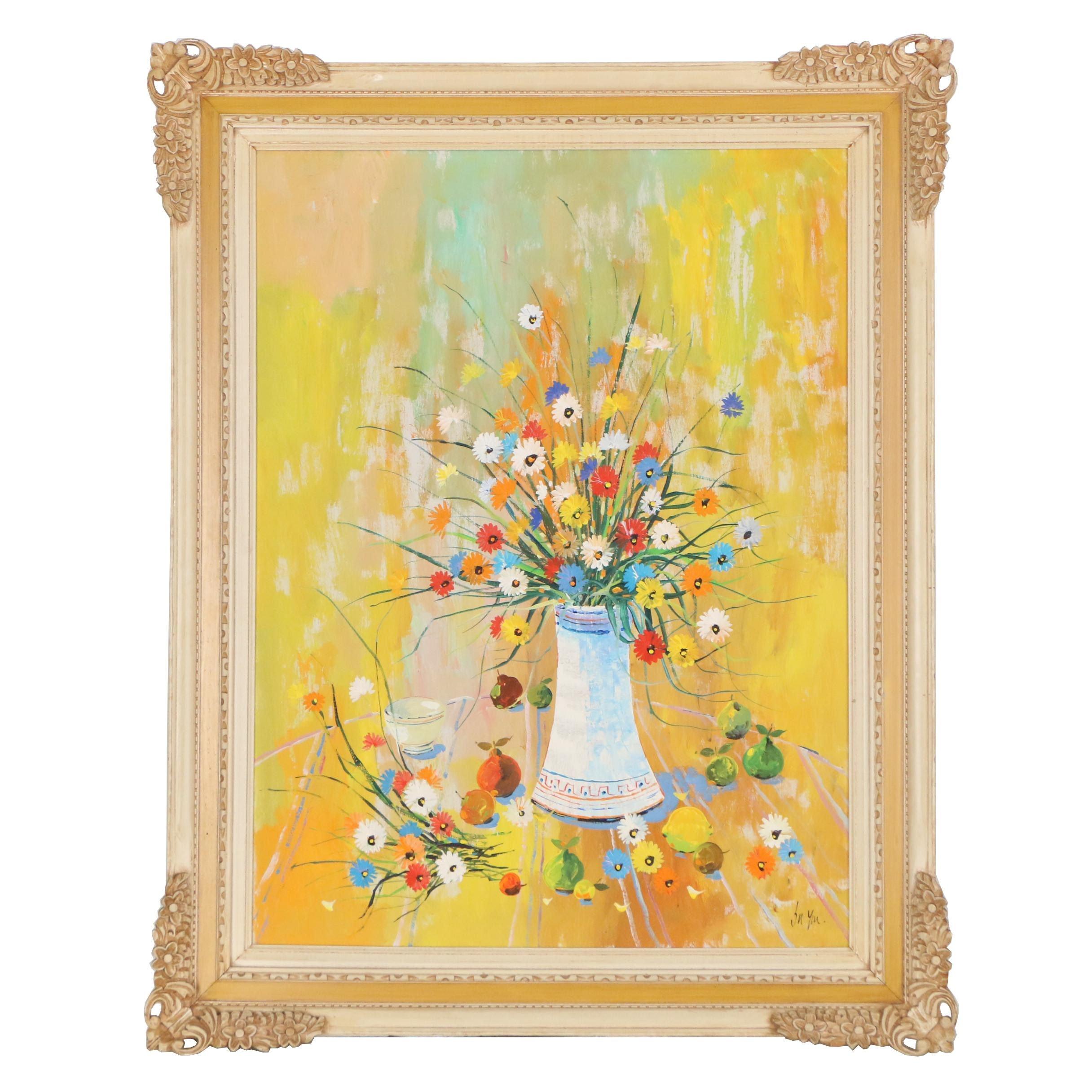 Su Yui Still Life Oil Painting