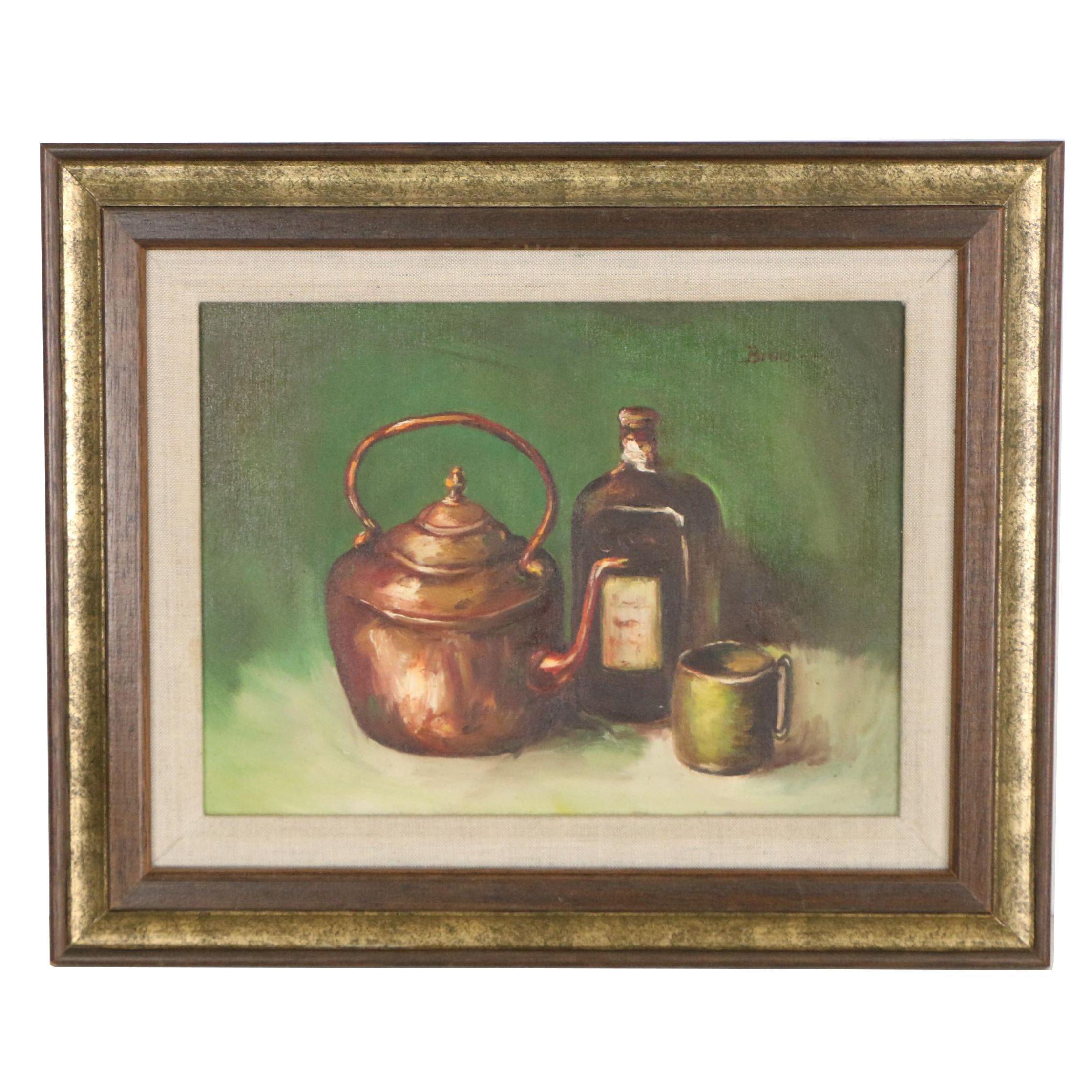 Rosemary Bruno Still Life Oil Painting