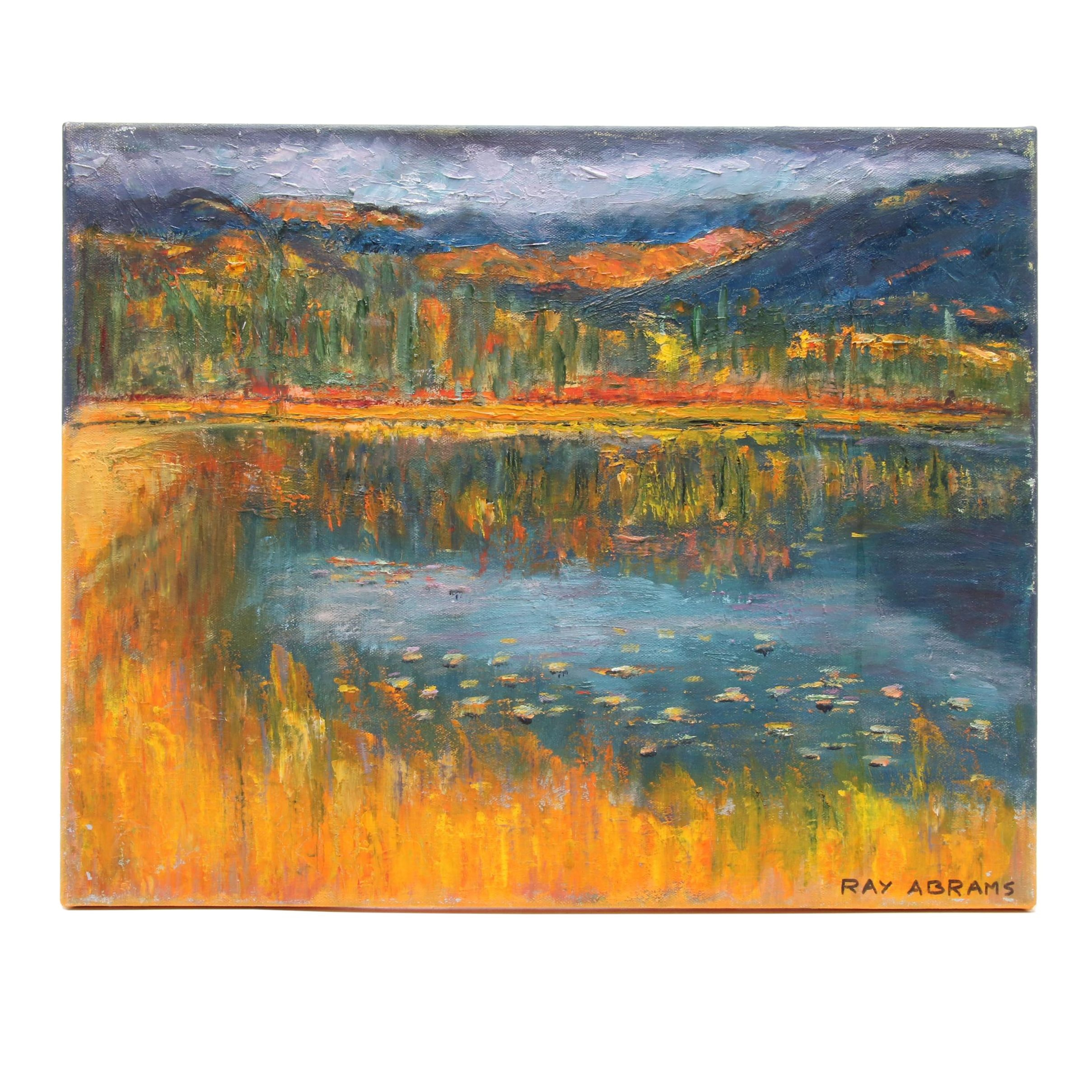 Ray Abrams Landscape Oil Painting