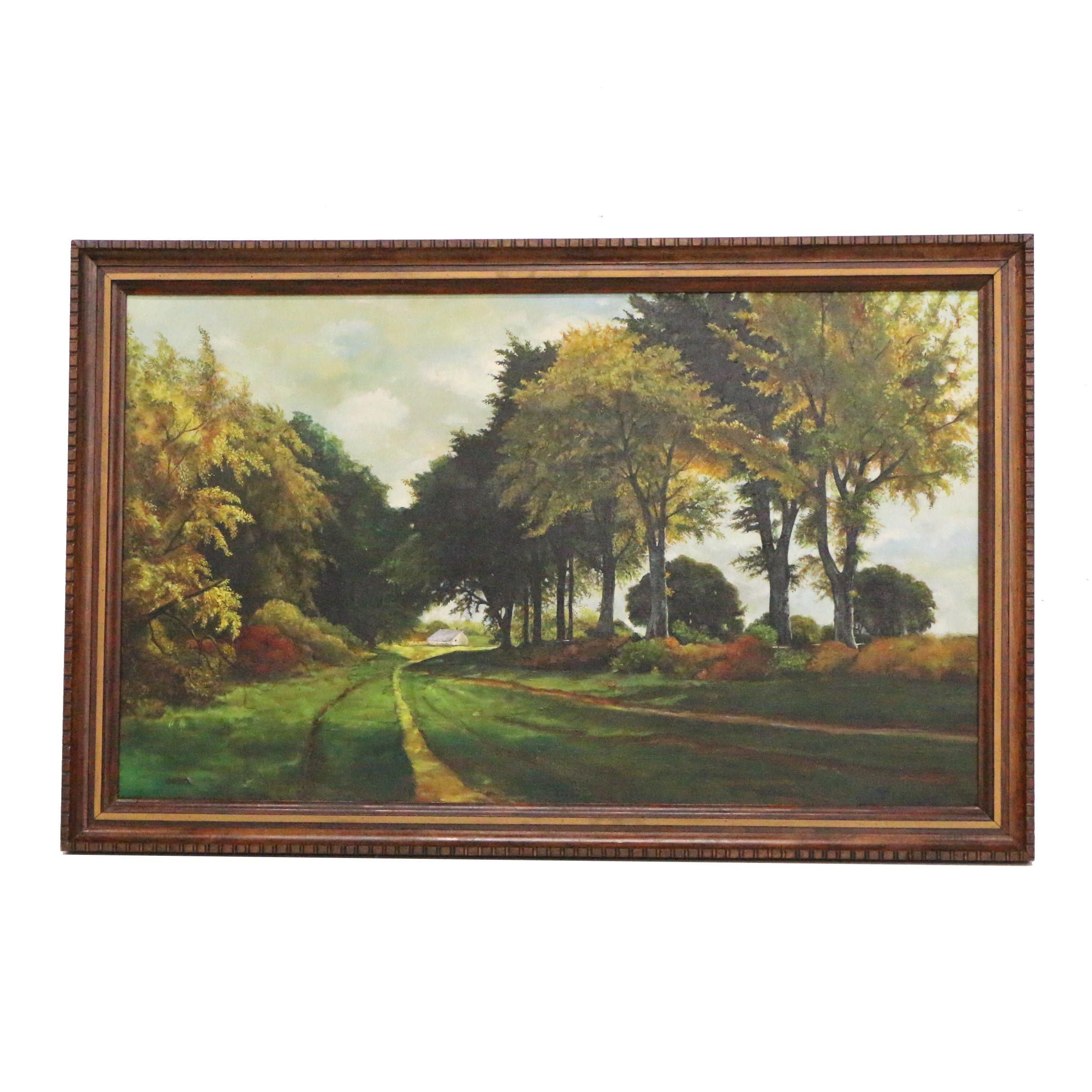 Bruno Landscape Oil Painting
