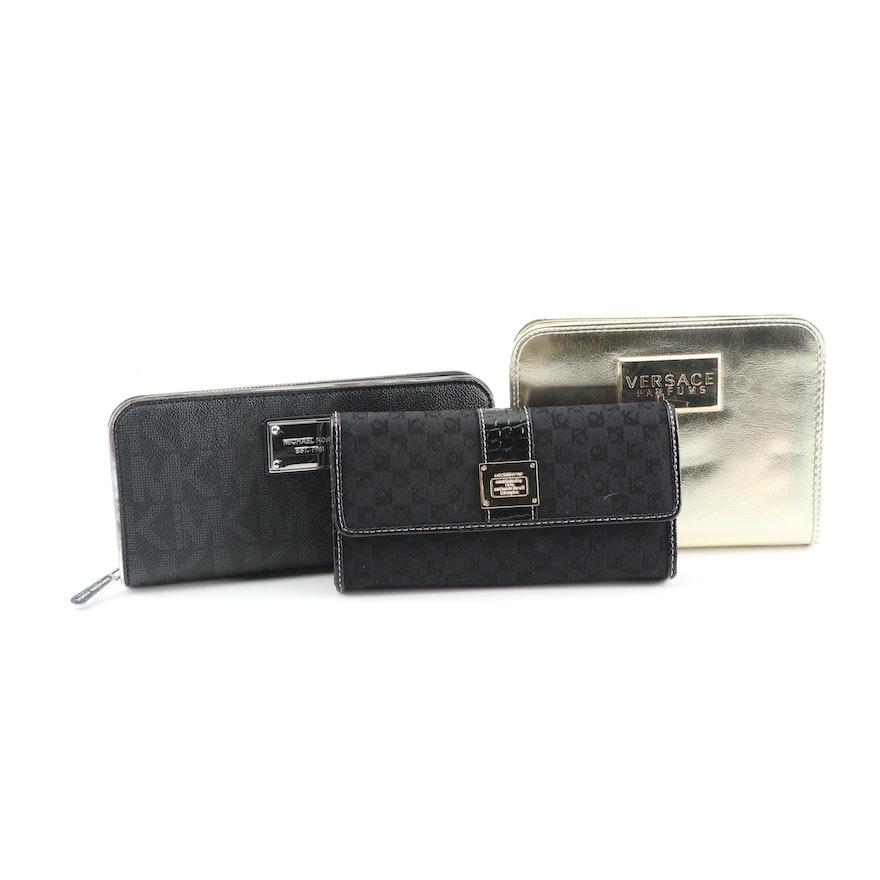12dfb4039acb5b MICHAEL Michael Kors, Liz Claiborne and Versace Parfums Wallets | EBTH