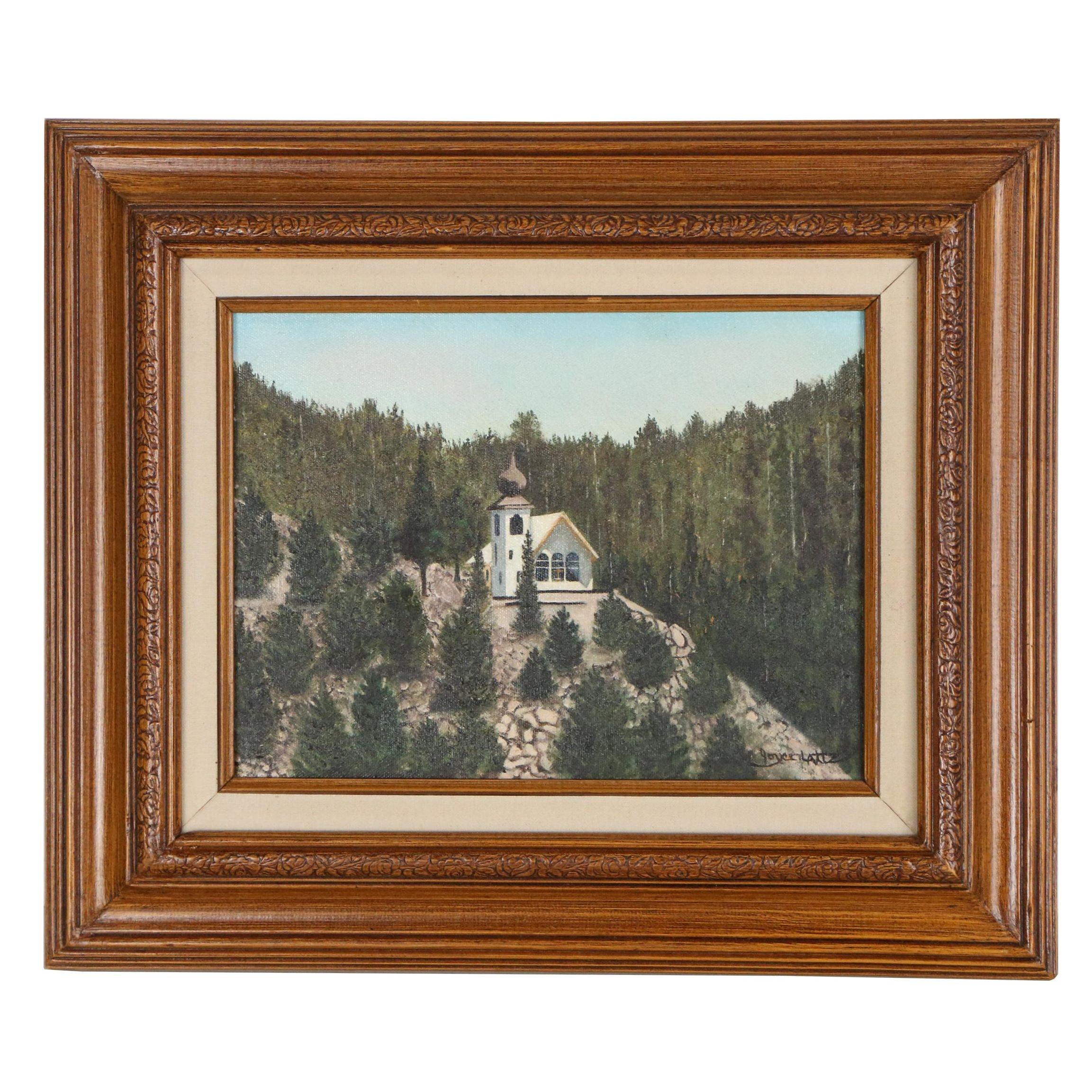 Joyce Lattz Acrylic Painting