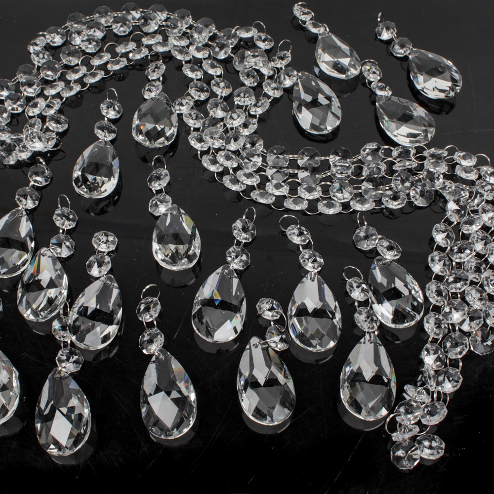 Crystal Prisms and Lamp Chain