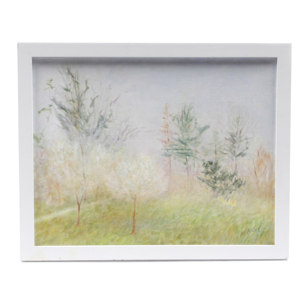 Wendy Cammer Ethereal Landscape Oil Painting