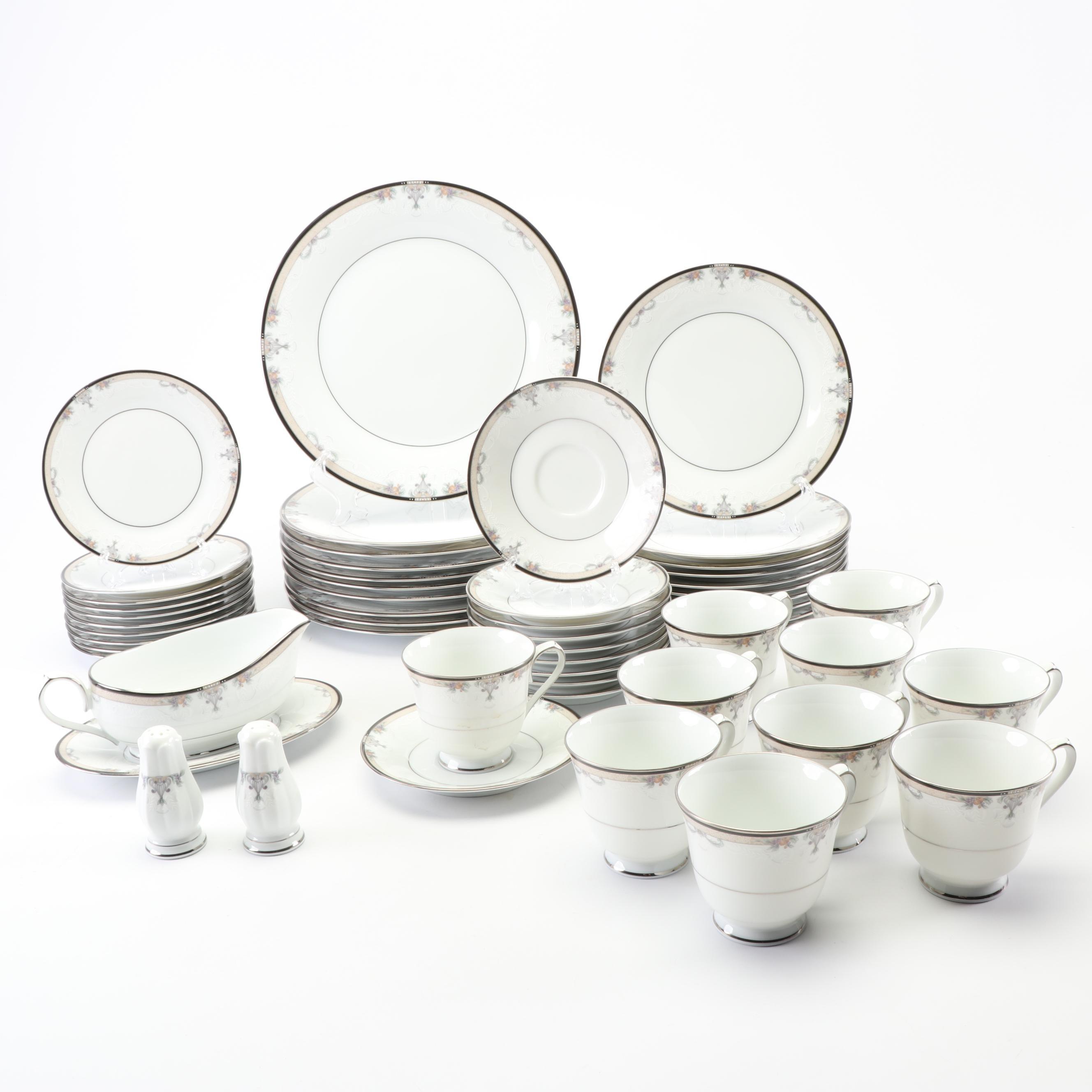 "Noritake ""Park Suite"" Porcelain Dinnerware c. 1991-99"