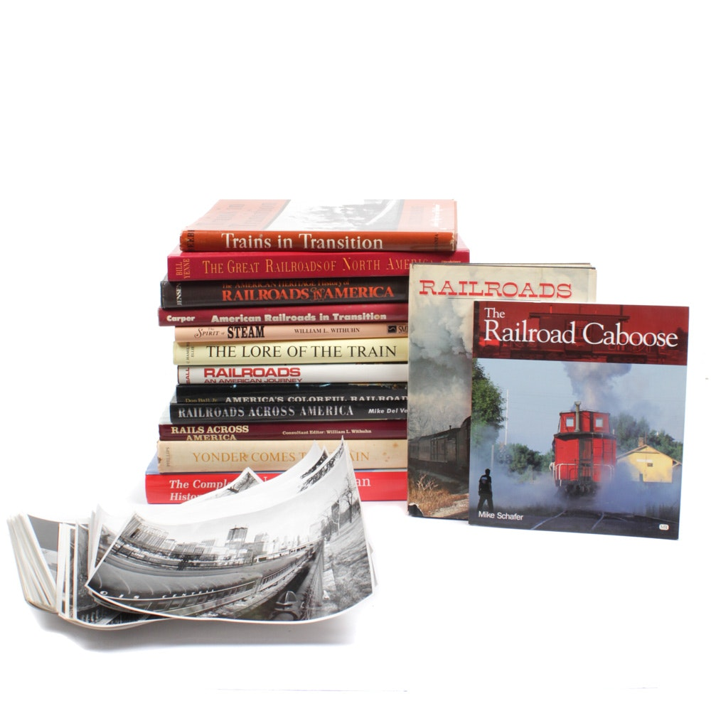 American Railroad Coffee Table Books and Photos