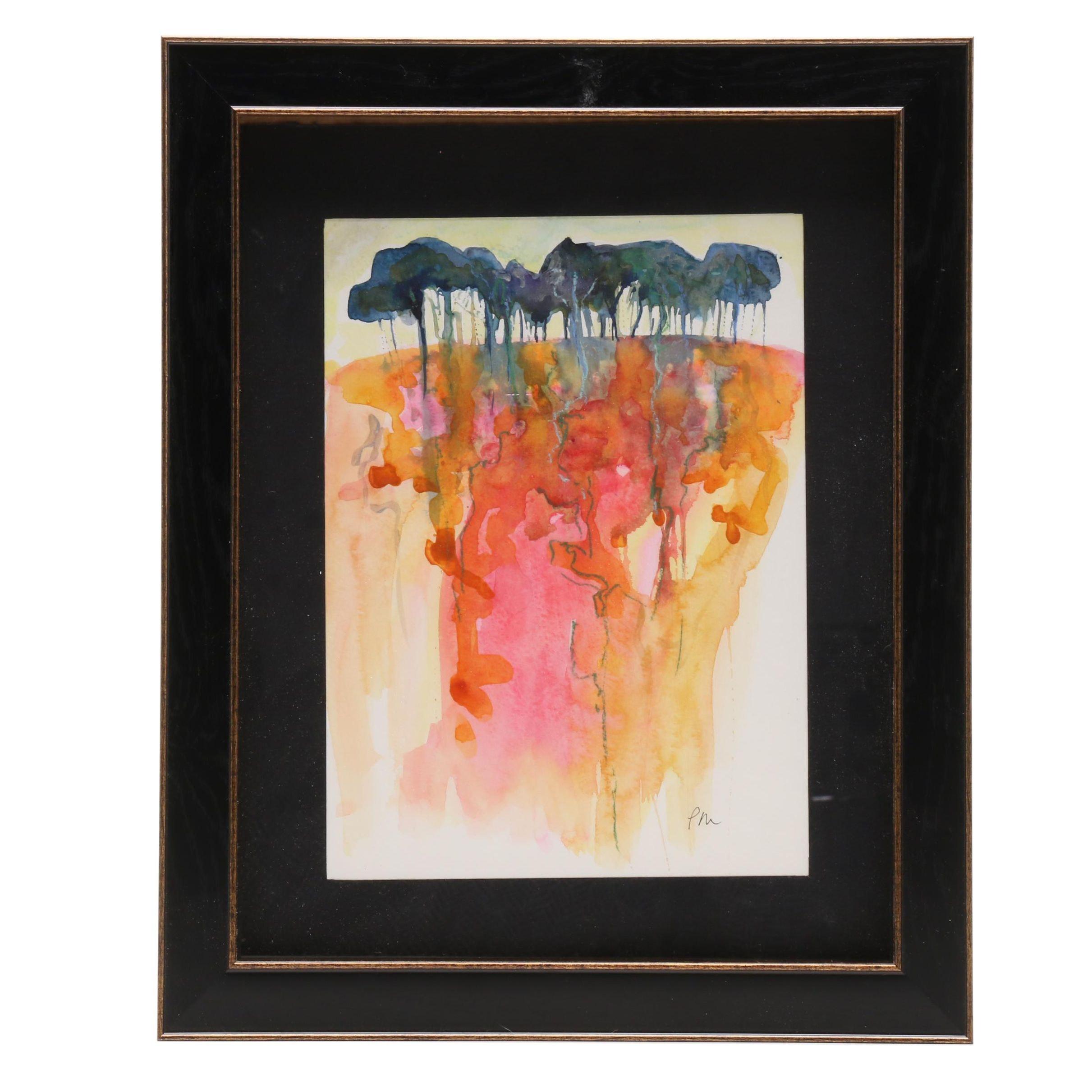 Patricia MacDonald Watercolor Landscape Painting
