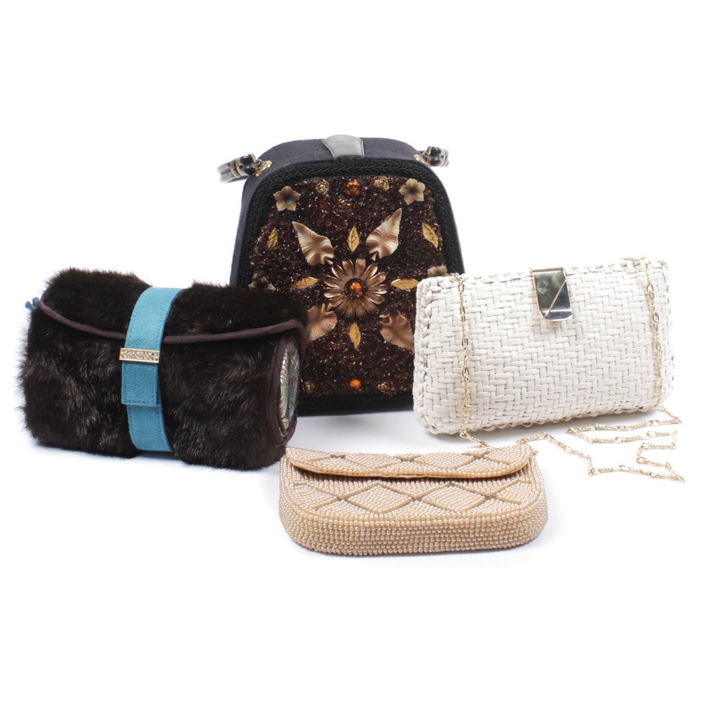 Assorted Purses Featuring Papagallo and Stephanie Johnson