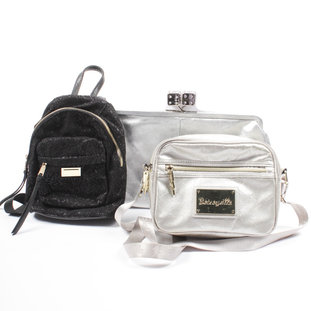 Betsey Johnson and Juicy Couture Purses