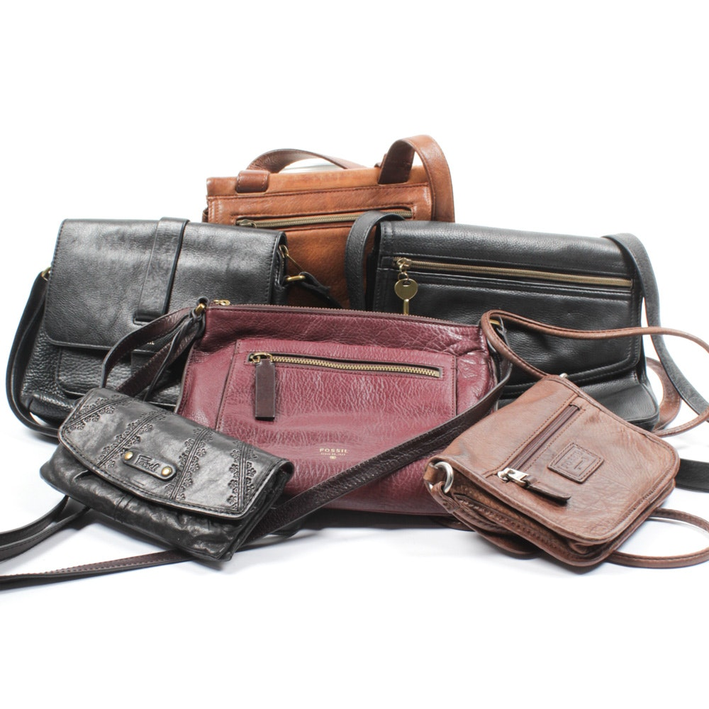 Fossil Crossbody Handbag and Wallet Collection