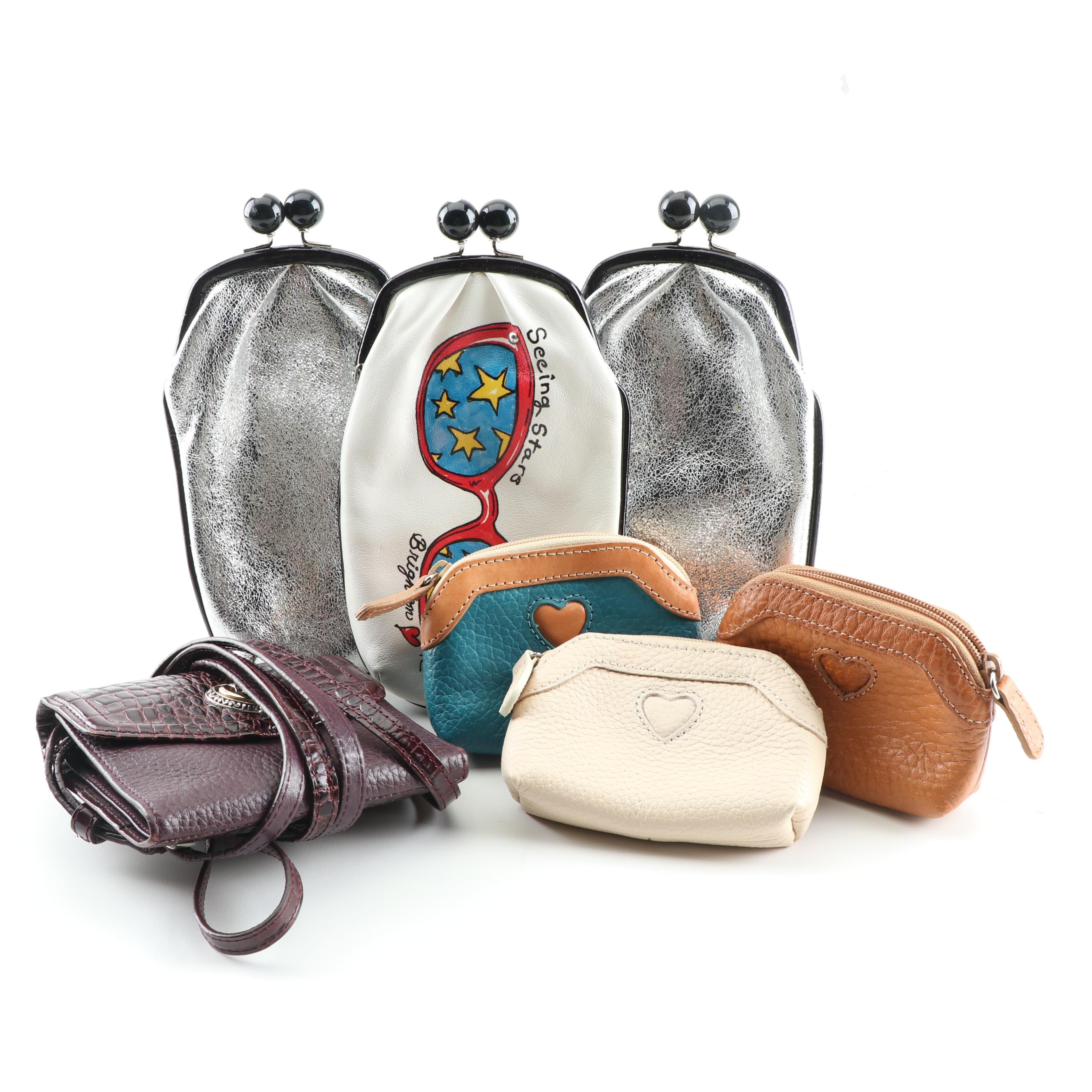 Brighton Leather Eyeglass Cases, Coin Pouches and Wallet