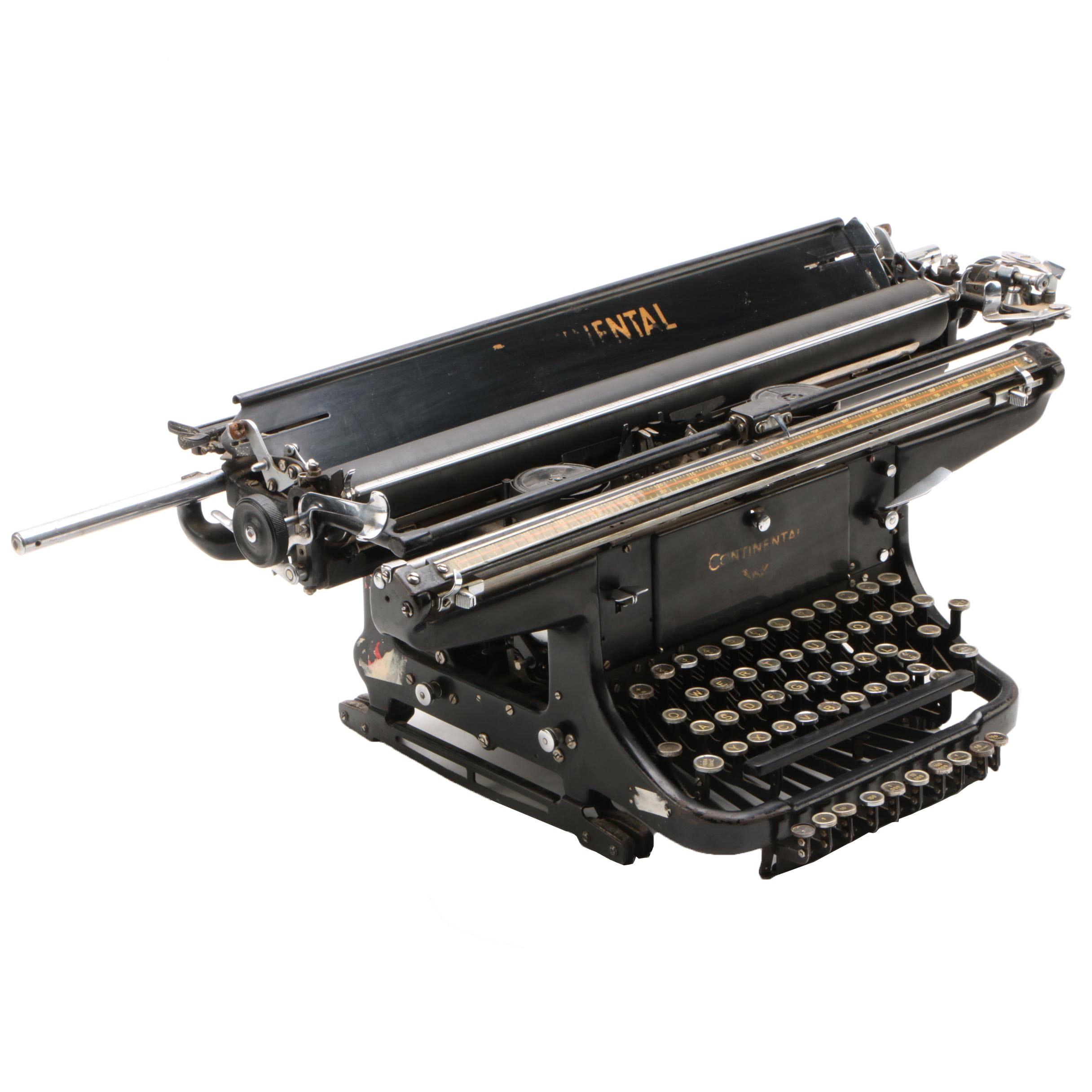 Continental Wanderer-Werke Large Format Typewriter, c. 1936