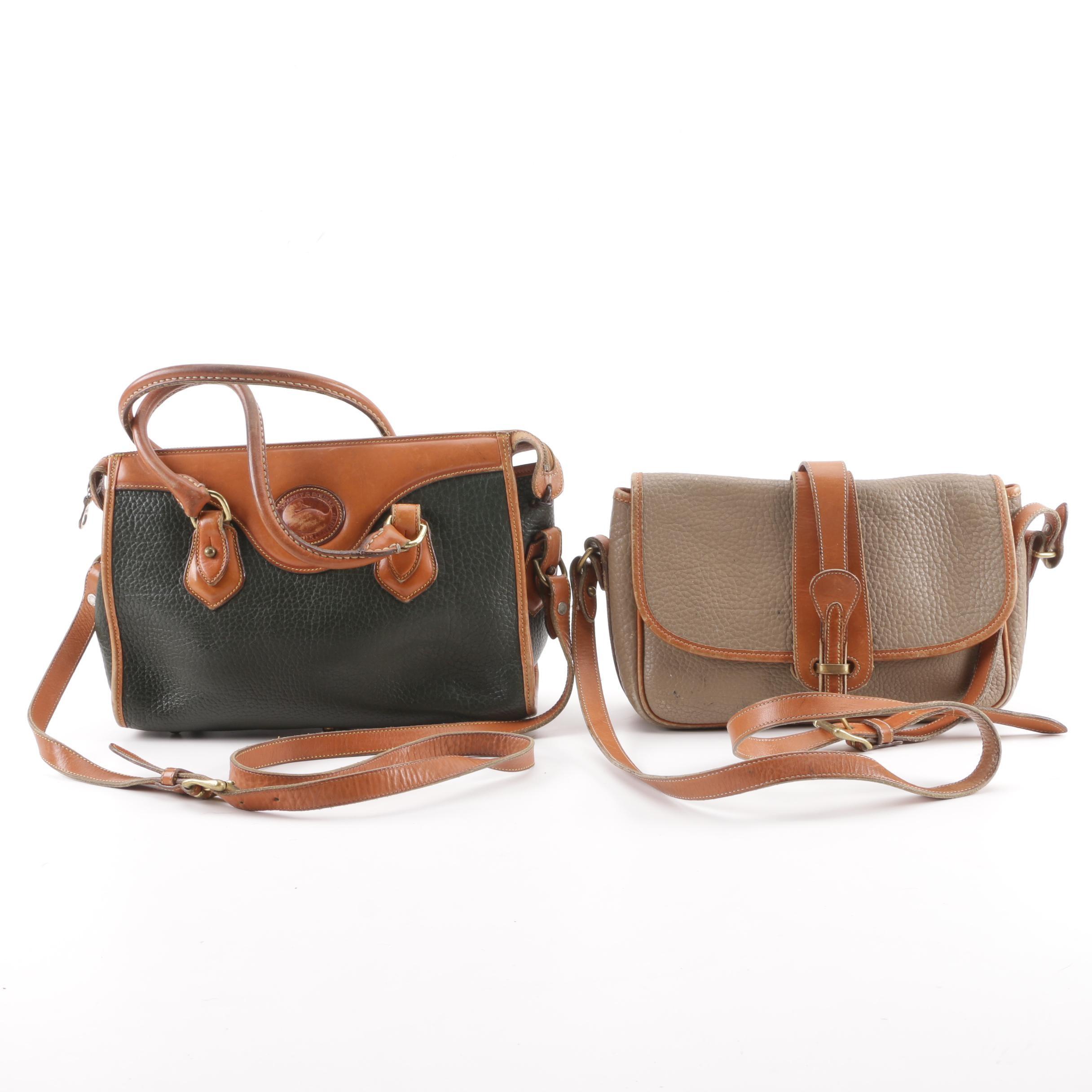 Dooney & Bourke All-Weather Leather Shoulder Bag and Convertible Satchel