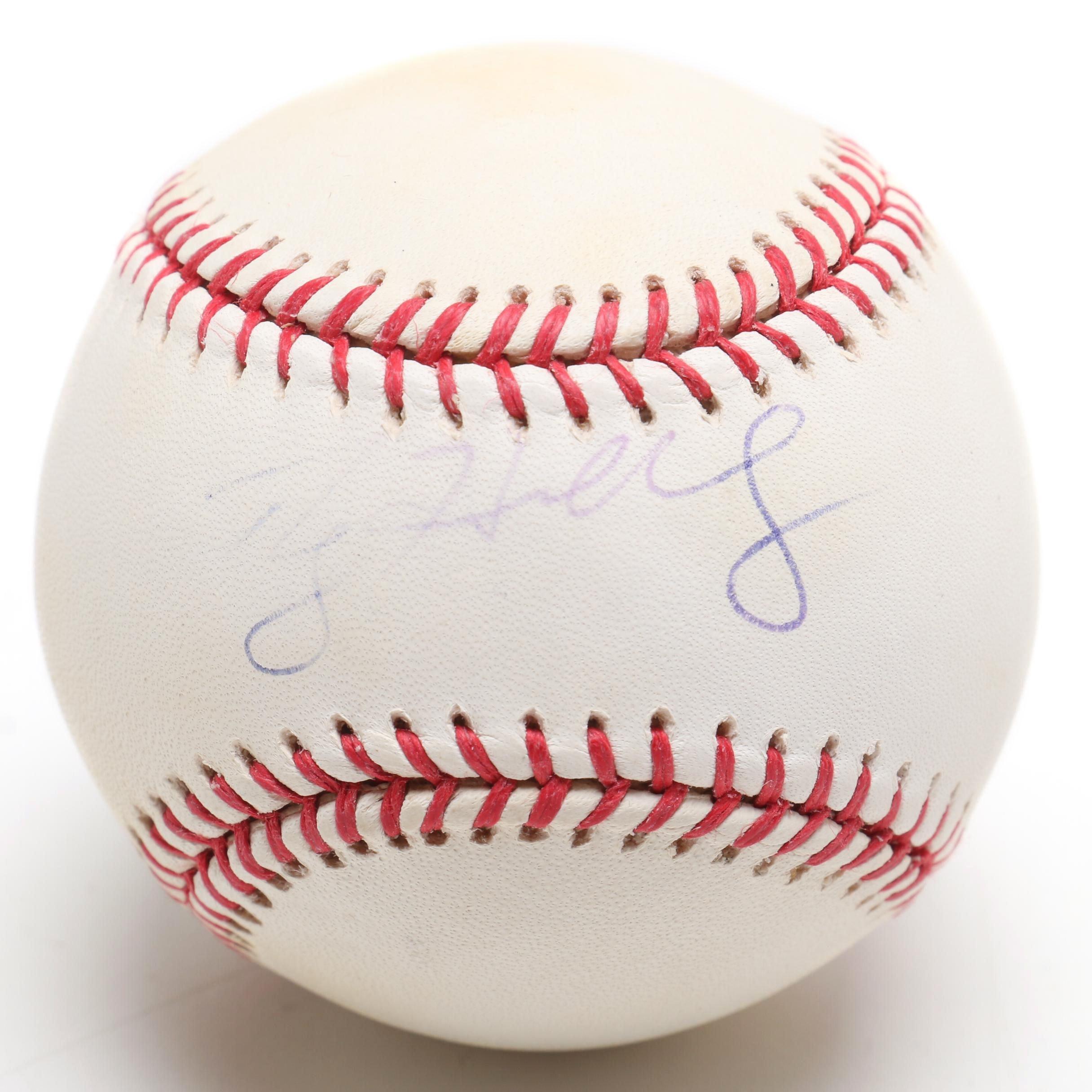 Roy Halladay Signed Rawlings Major League Baseball