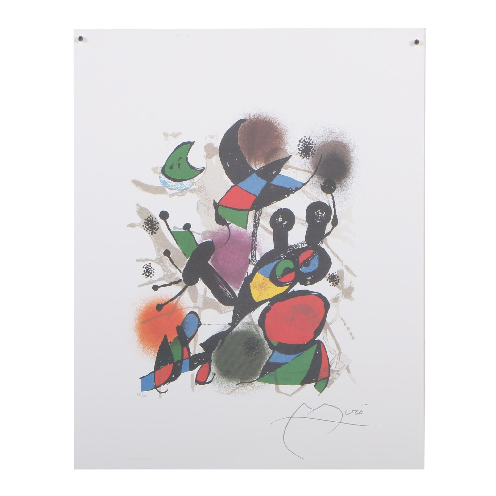 "Offset Lithograph after Joan Miró ""Volume II"""