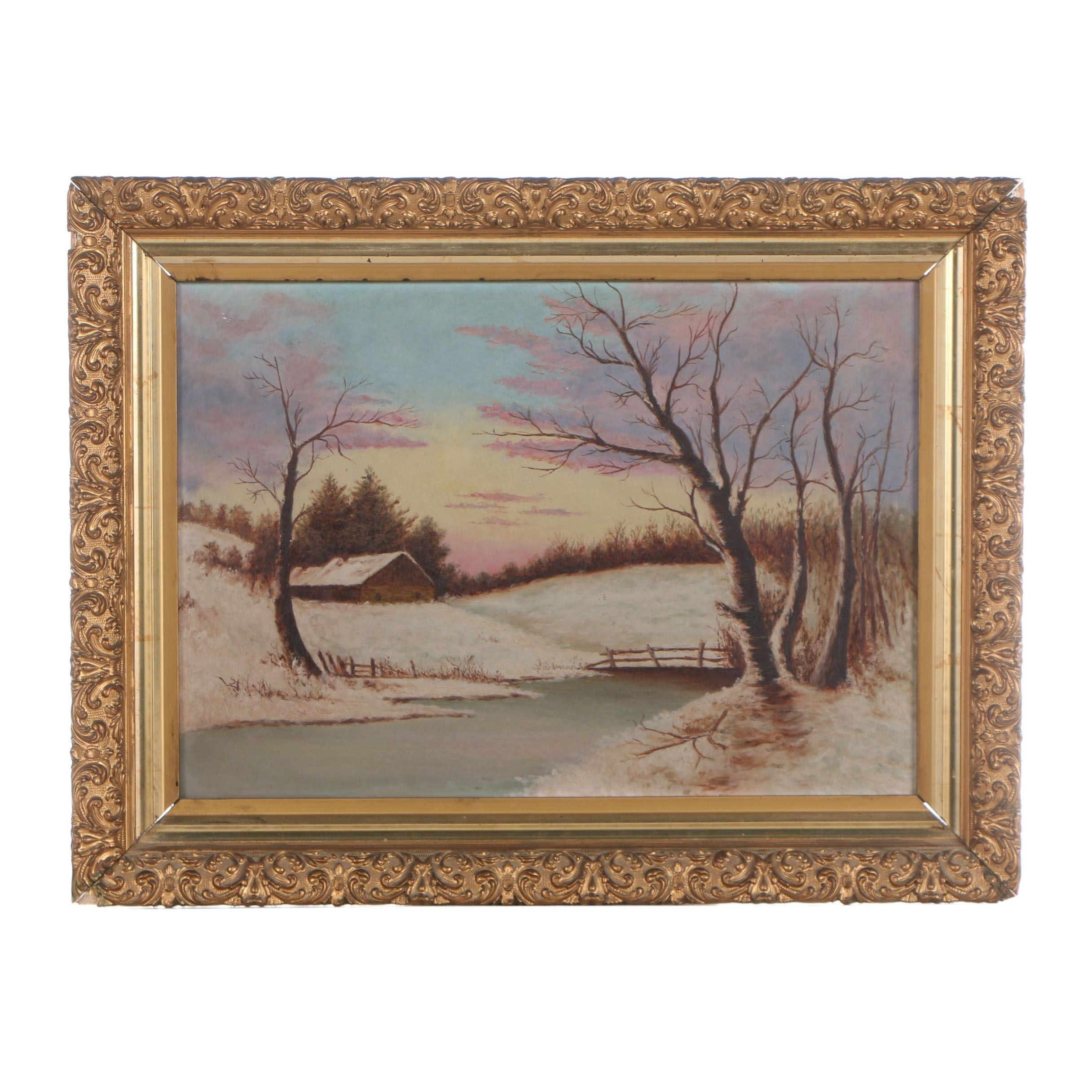 Early-Mid 20th Century Oil Painting