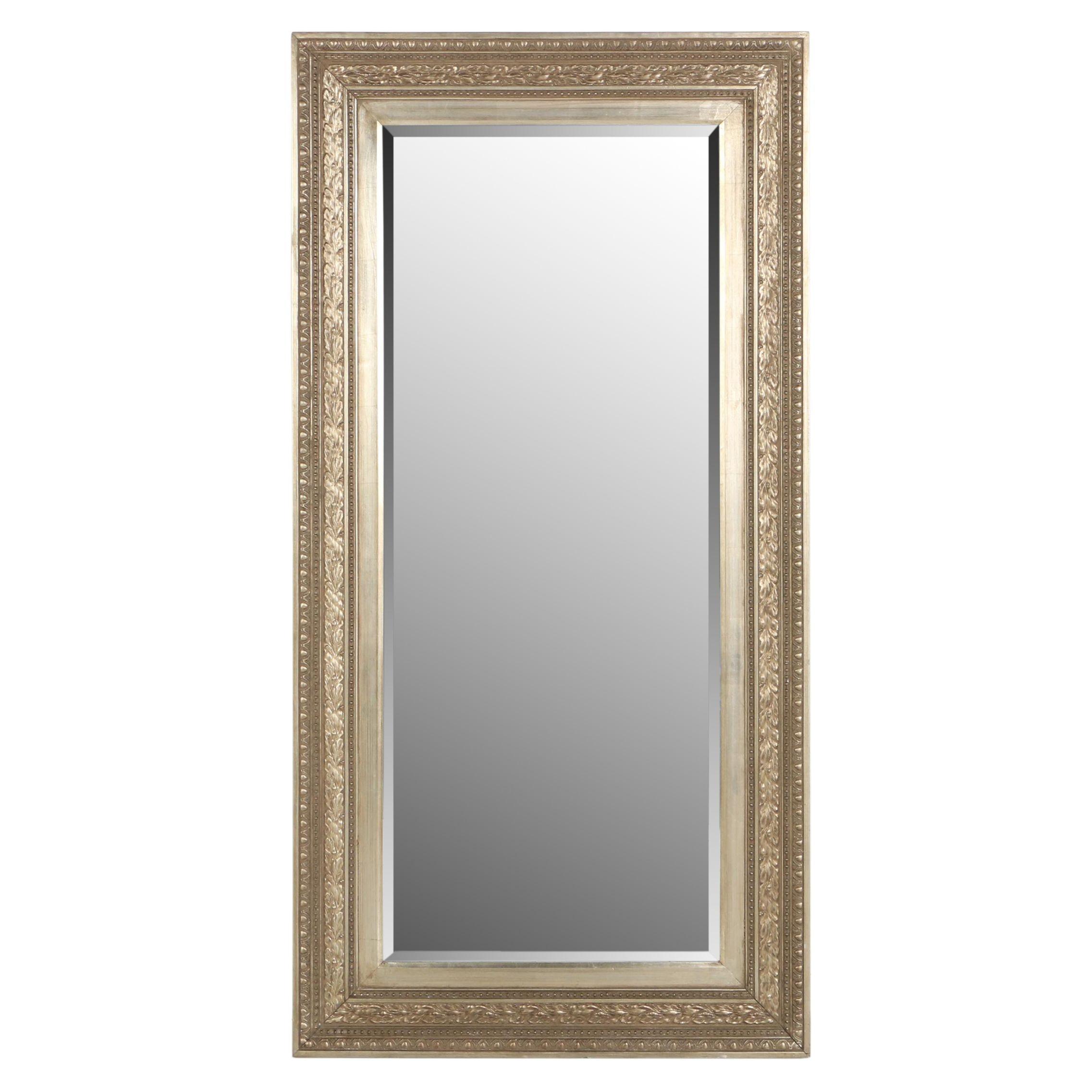 Contemporary Giltwood Rectangular Mirror