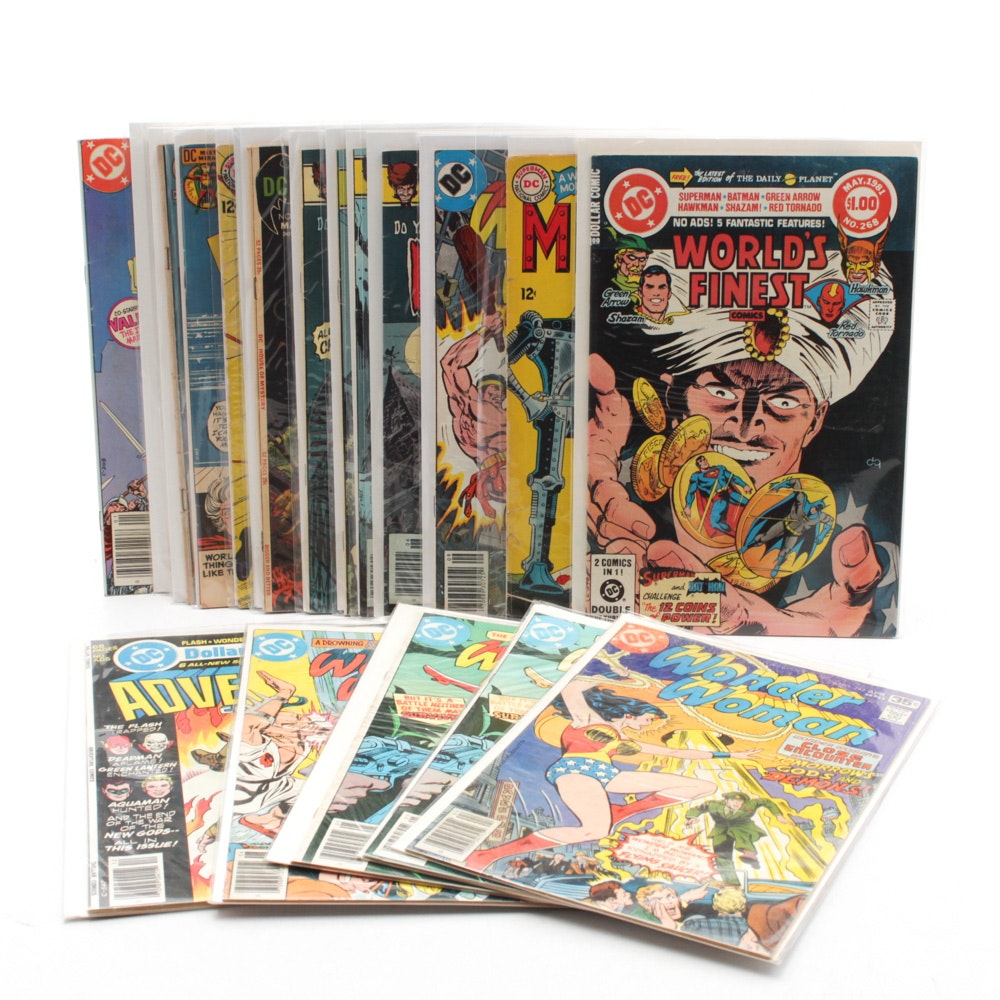"DC Silver and Bronze Age Comics Featuring ""Wonder Woman"""