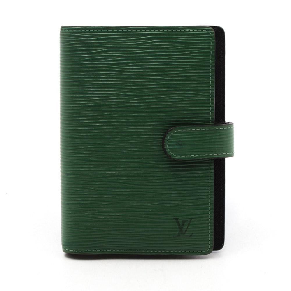 Louis Vuitton Epi Leather Agenda Planner