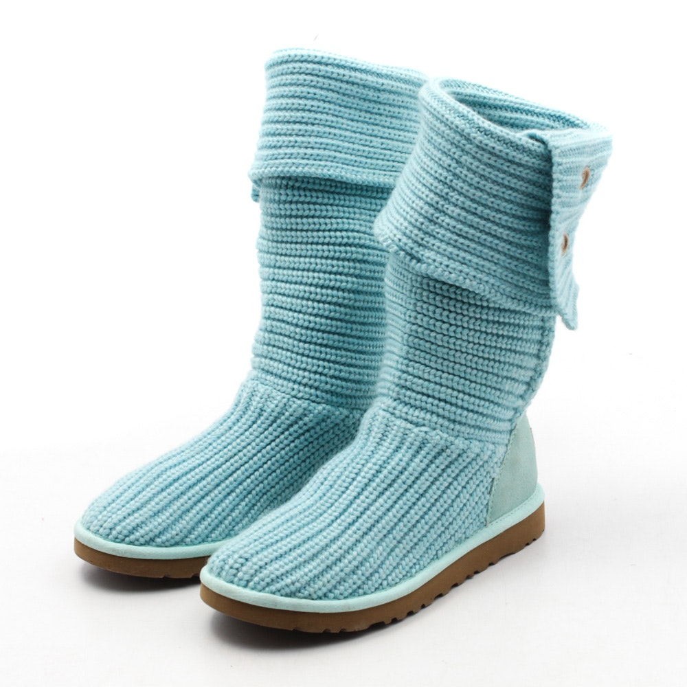 Women's UGG Australia Classic Cardy Knit Boots