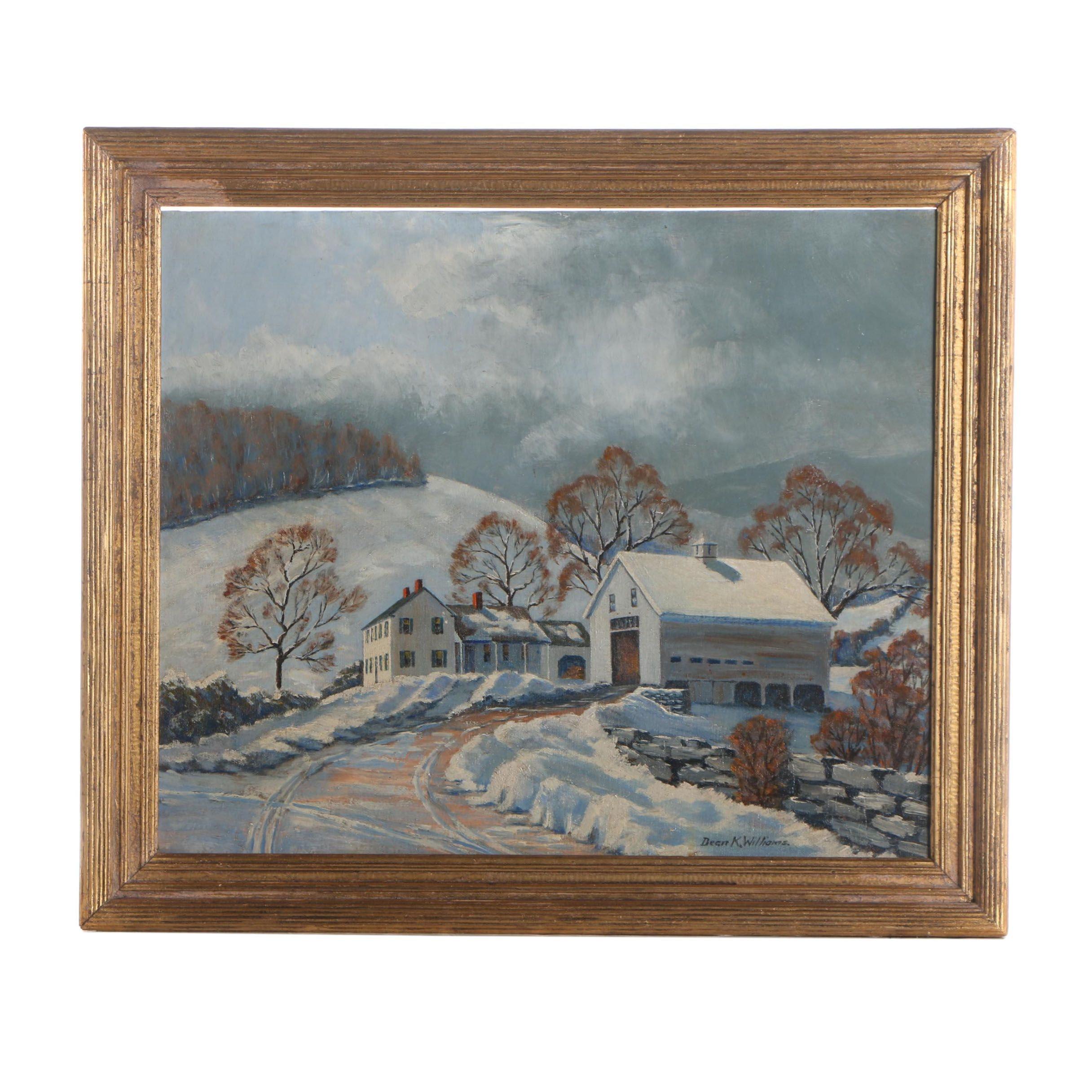Dean K. Williams Oil Painting