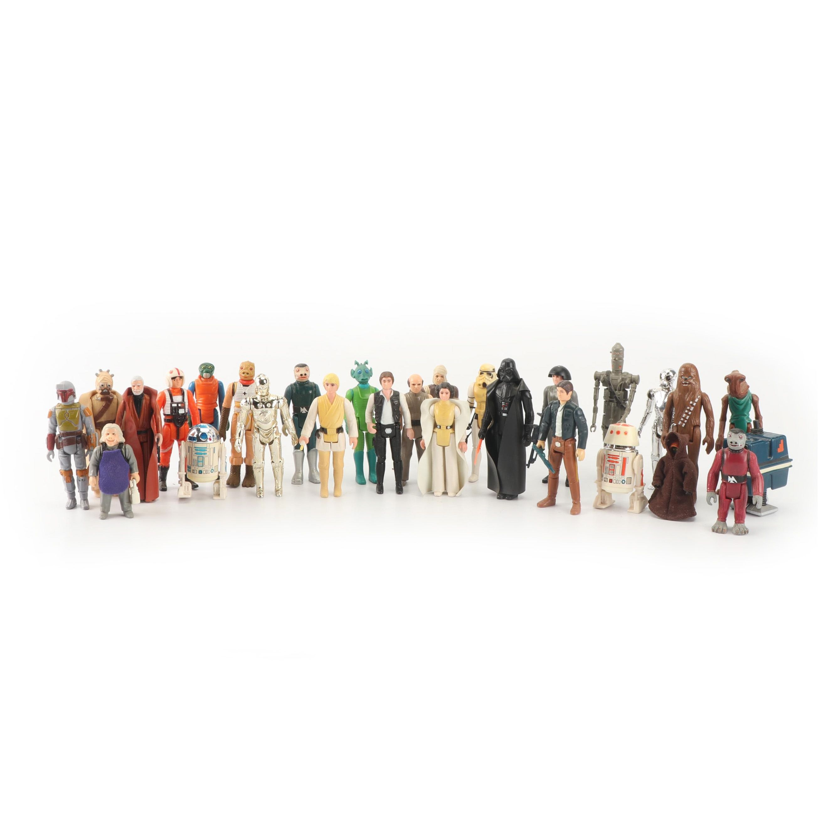 "1978 Kenner ""Star Wars"" Action Figures Collection"