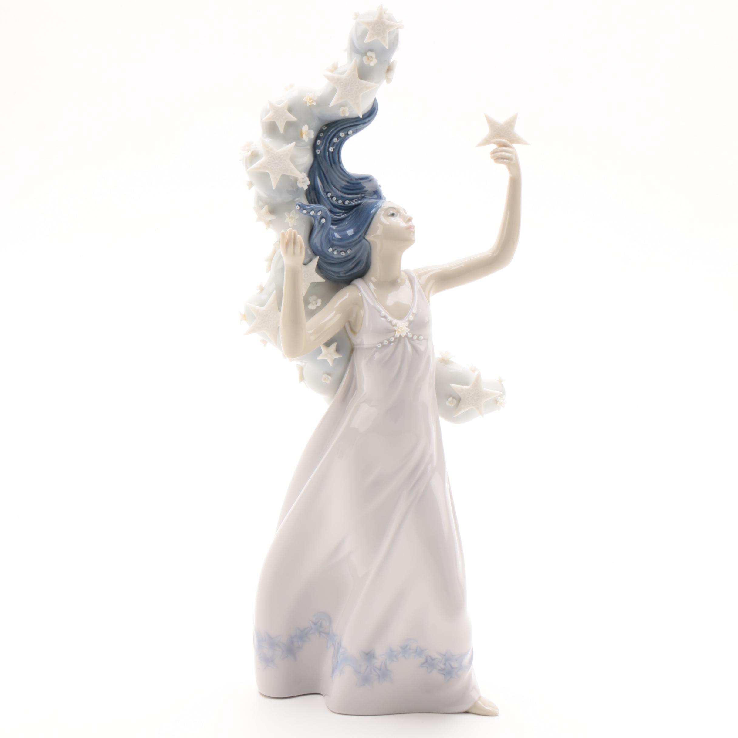 "Lladró Inspiration Millennium Collection ""Milky Way"" Porcelain Figurine, 1998"