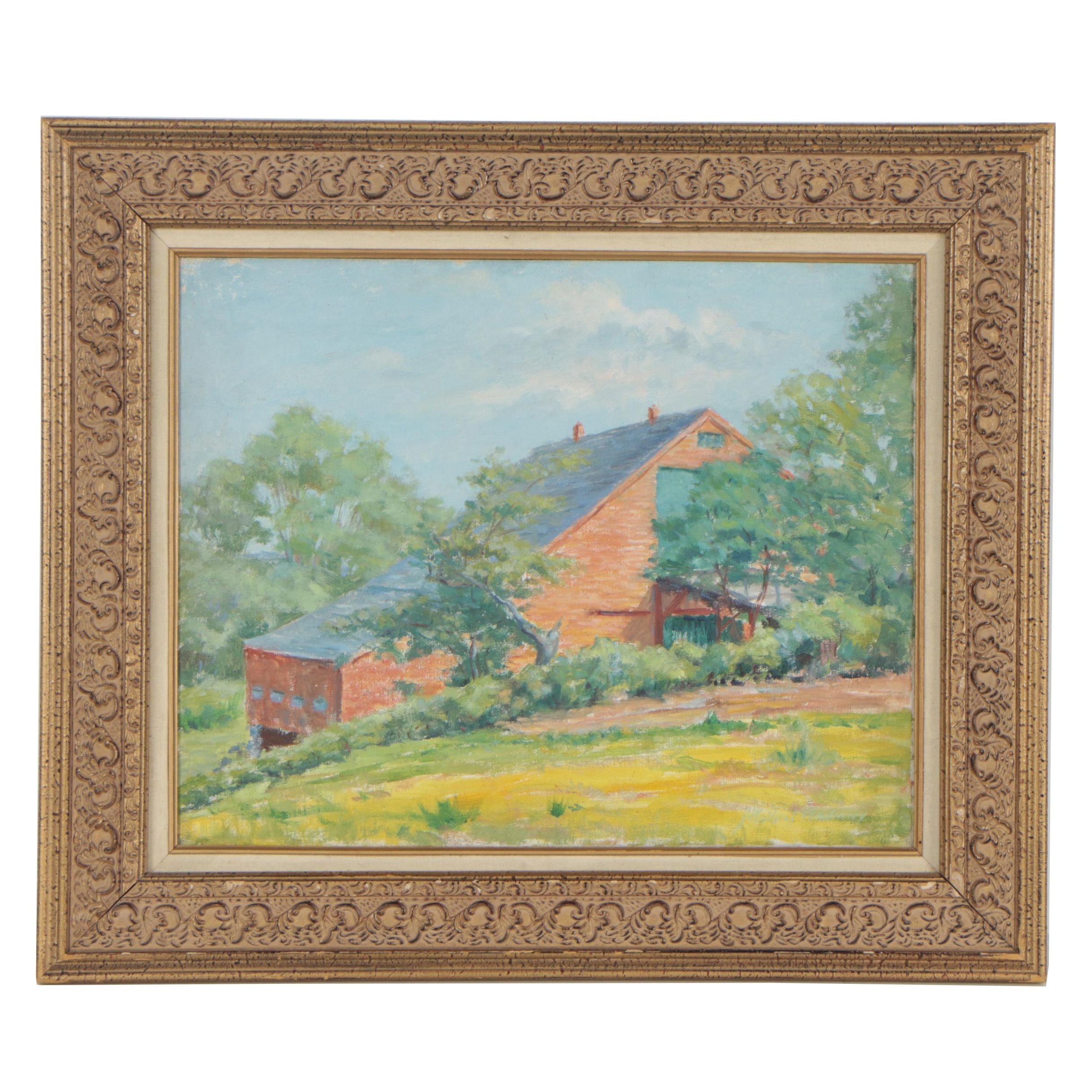 John Winthrop Andrews Oil Painting