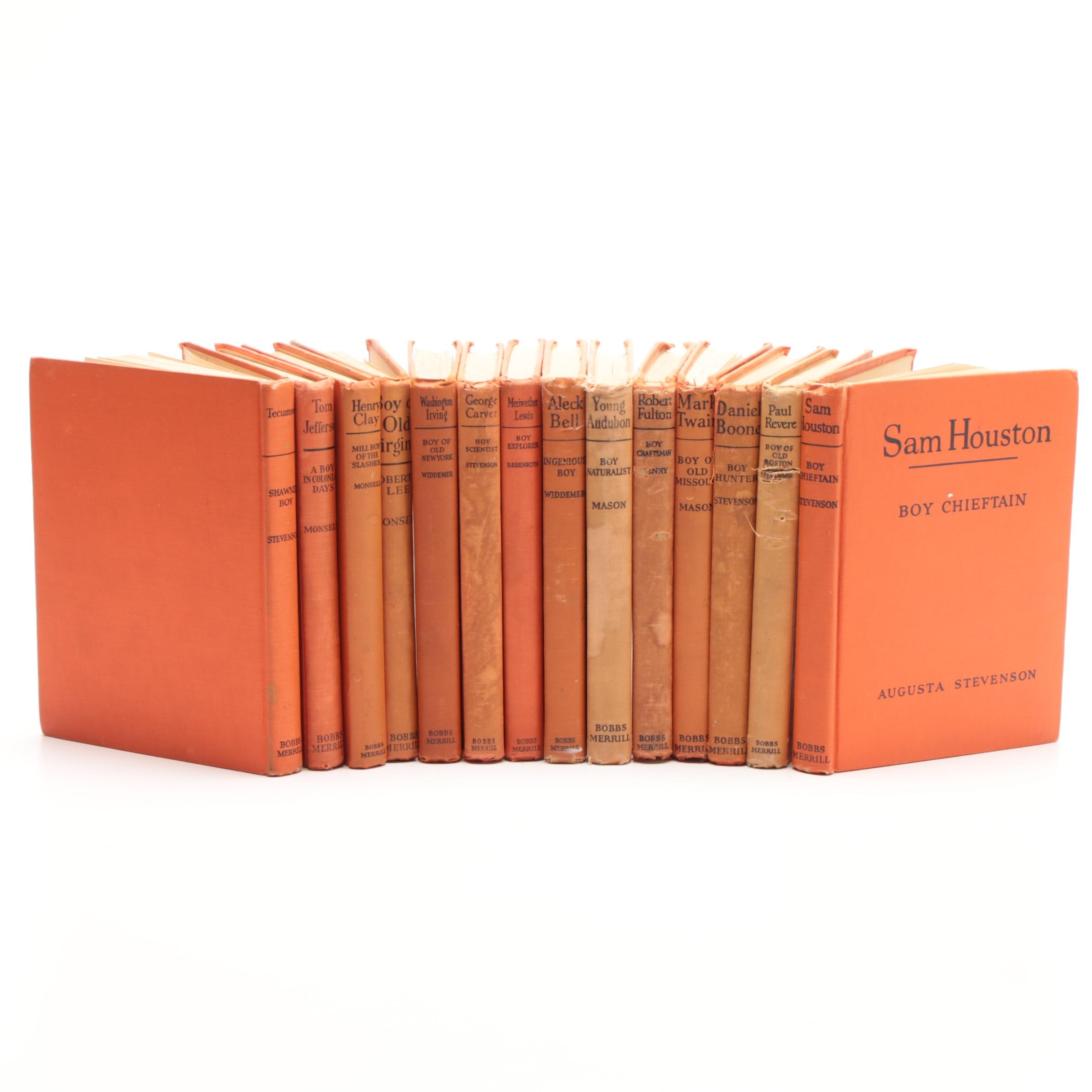 The Childhood of Famous Americans Series Books
